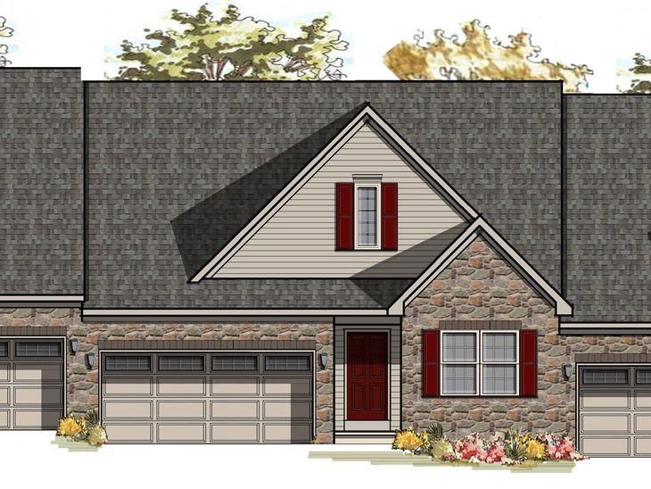 Radcliff Traditional:Radcliff Traditional Elevation