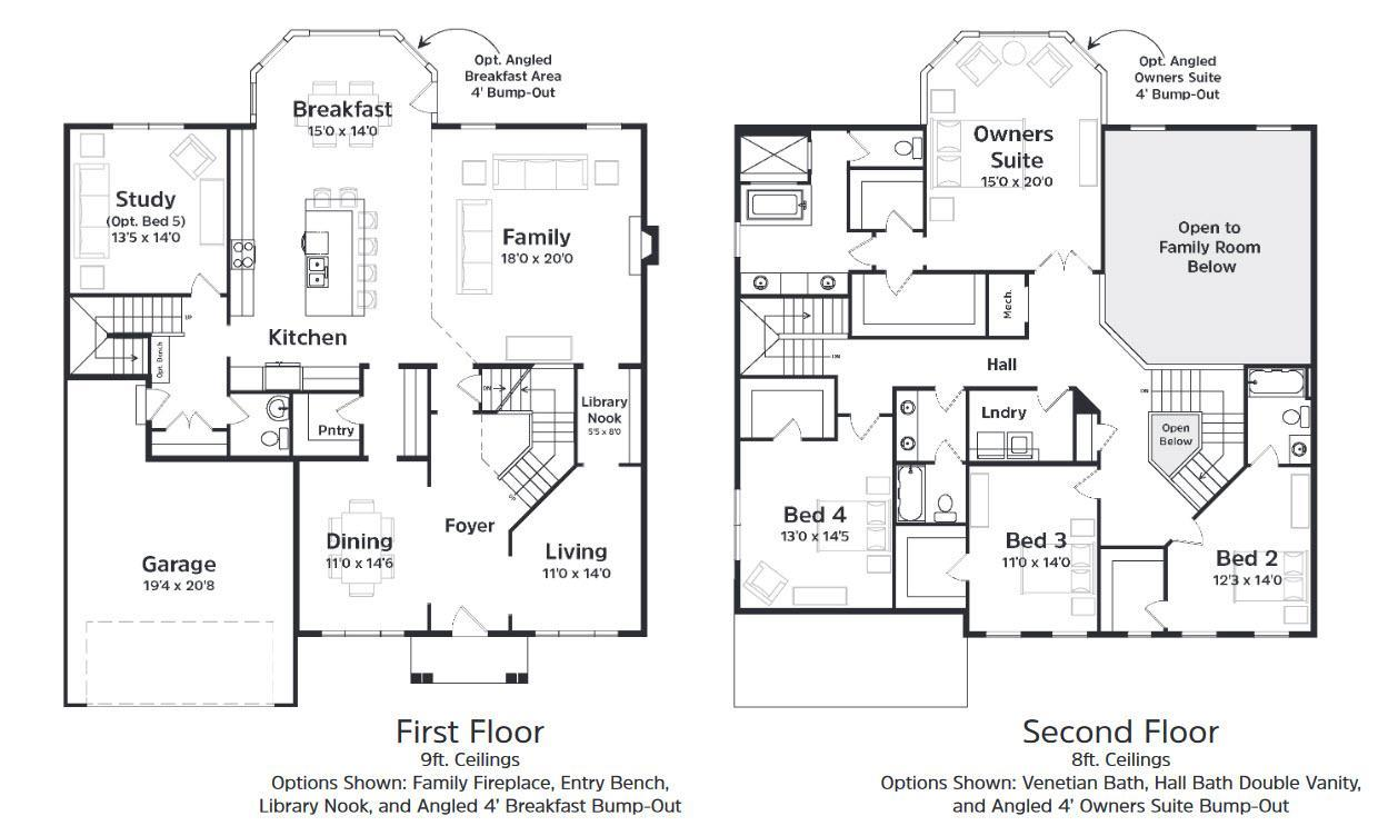 Devonshire Manor Plan At The Preserve At Marriotts Ridge In Woodstock Md By Keystone Custom Homes