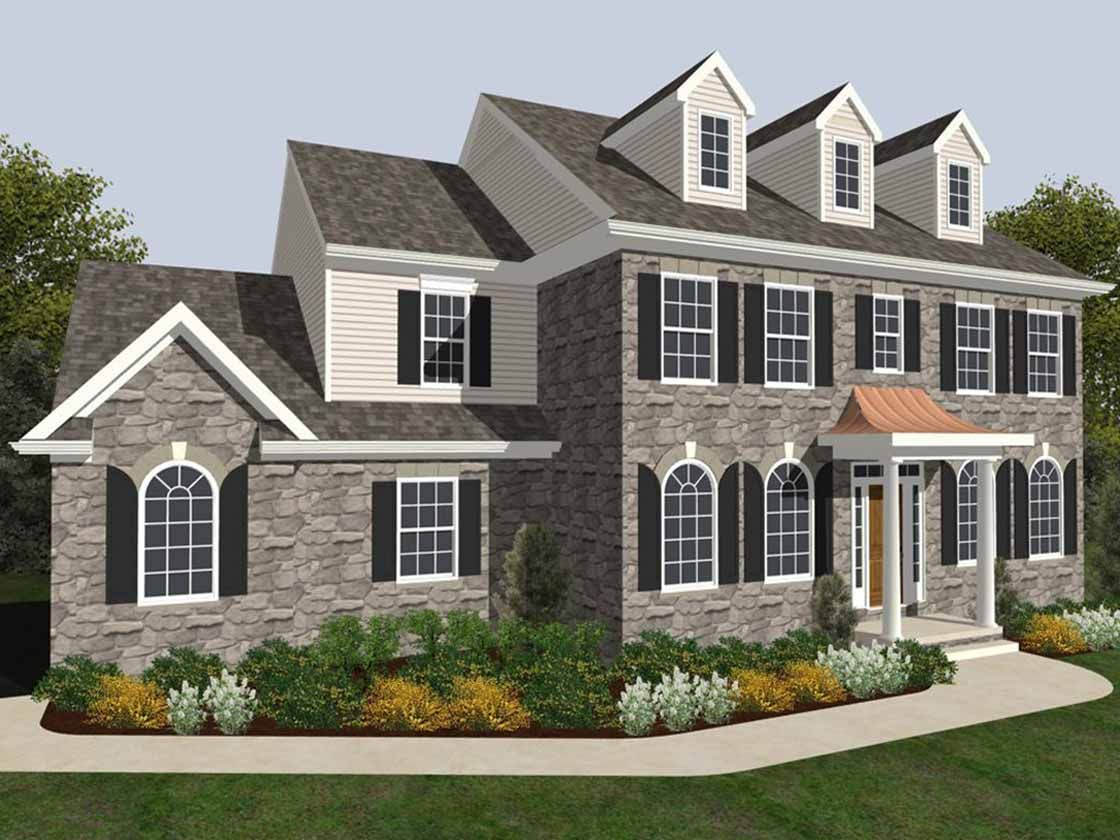 Keystone Custom Homes Floor Plans: Fox Chapel Crossing In Shrewsbury, PA, New Homes & Floor