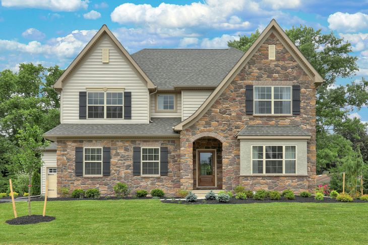 Keystone Custom Homes Floor Plans: Buckingham Preserve In Douglassville, PA, New Homes