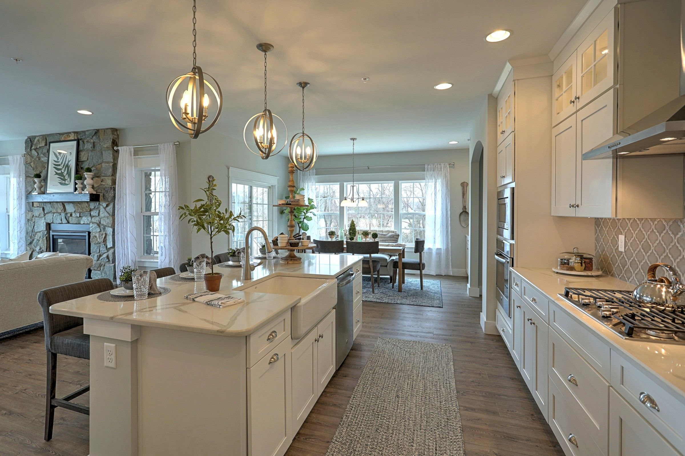 Kitchen featured in the Augusta Vintage By Keystone Custom Homes in York, PA