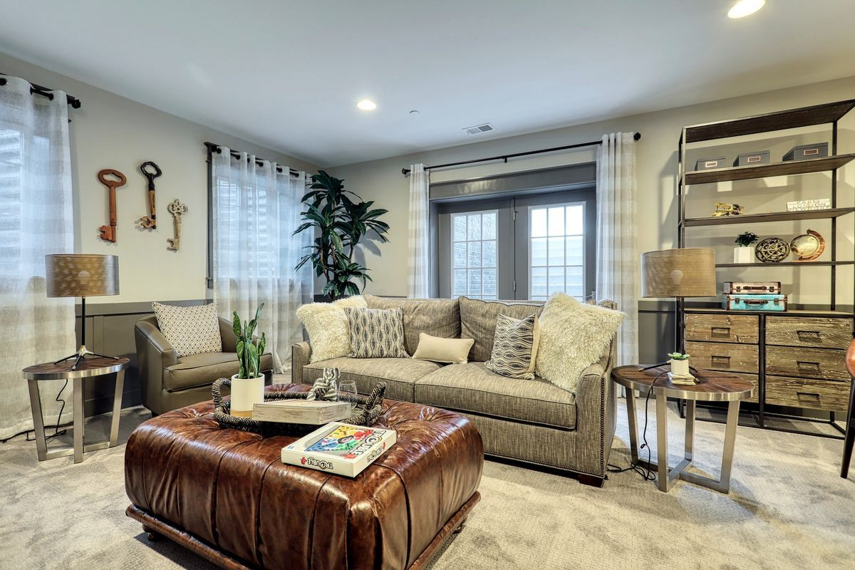 Living Area featured in the Nottingham Bordeaux By Keystone Custom Homes in Lancaster, PA