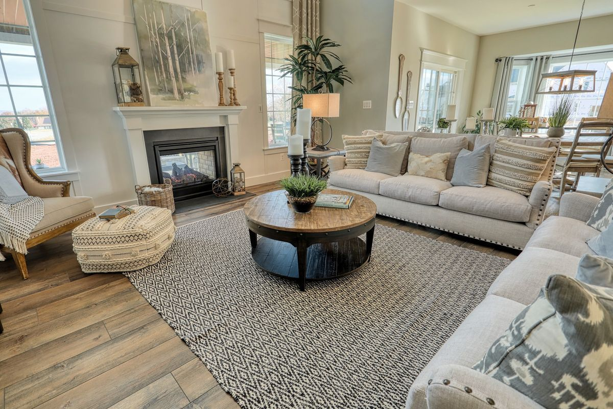 Living Area featured in the Nottingham Bordeaux By Keystone Custom Homes in Baltimore, MD