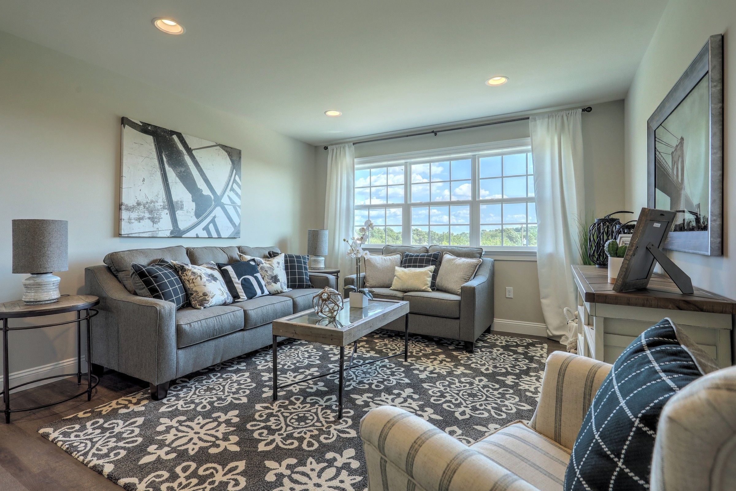 Living Area featured in the Augusta Vintage By Keystone Custom Homes in York, PA