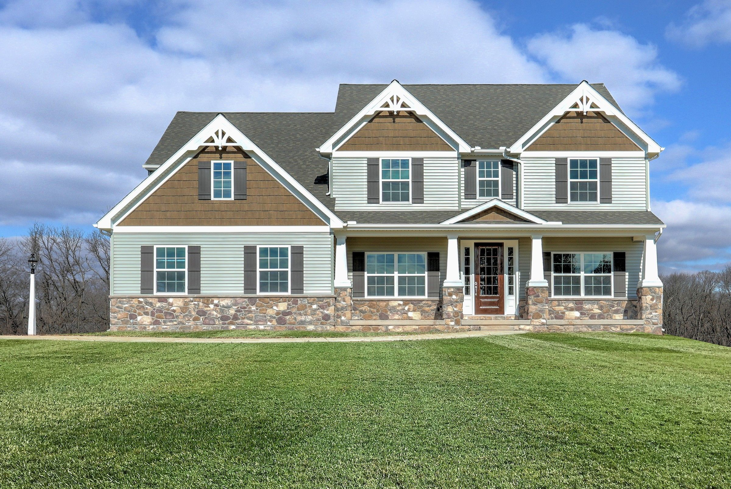 Exterior featured in the Ethan English Cottage By Keystone Custom Homes in Baltimore, MD