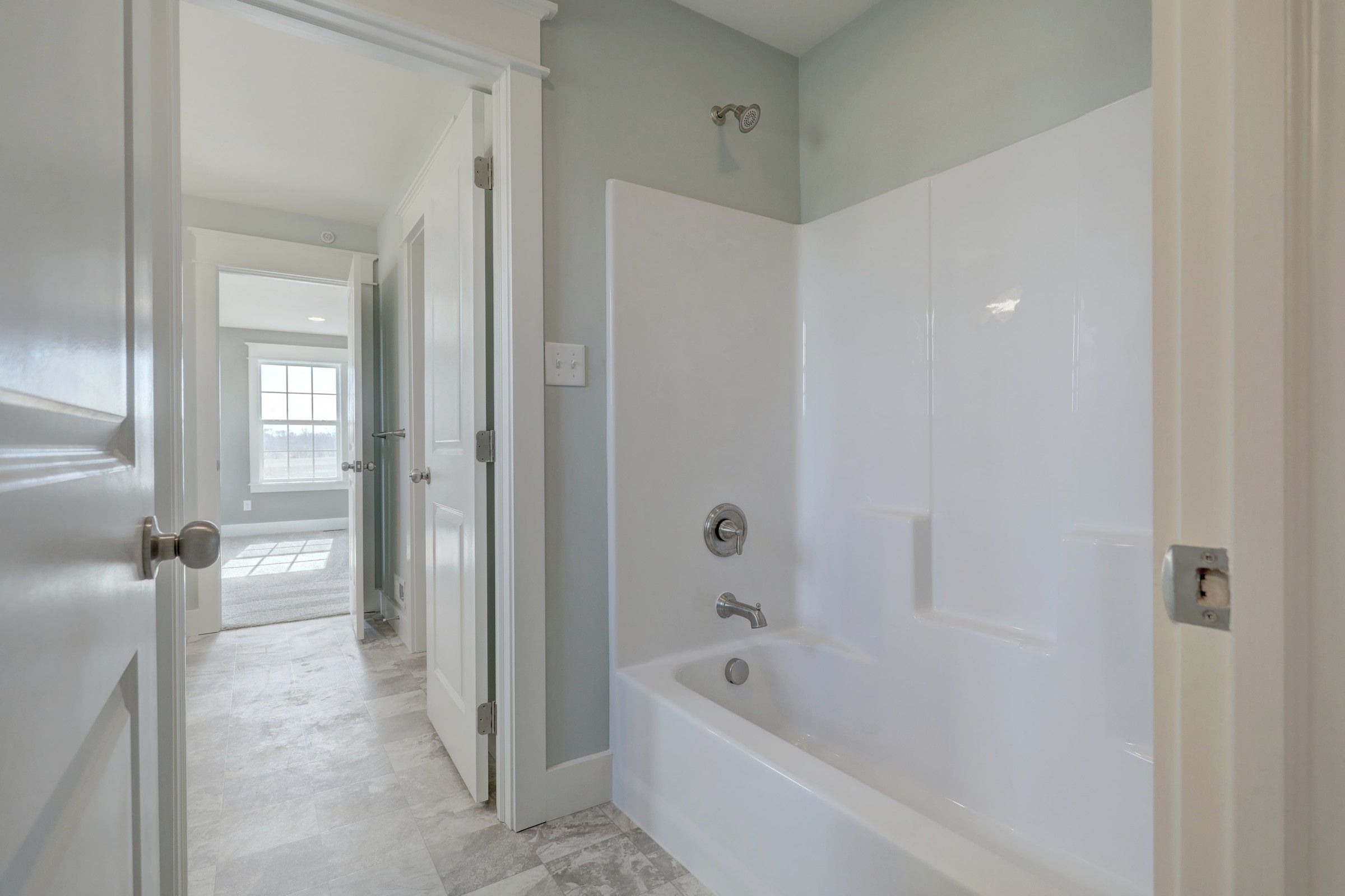 Bathroom featured in the Ethan English Cottage By Keystone Custom Homes in York, PA
