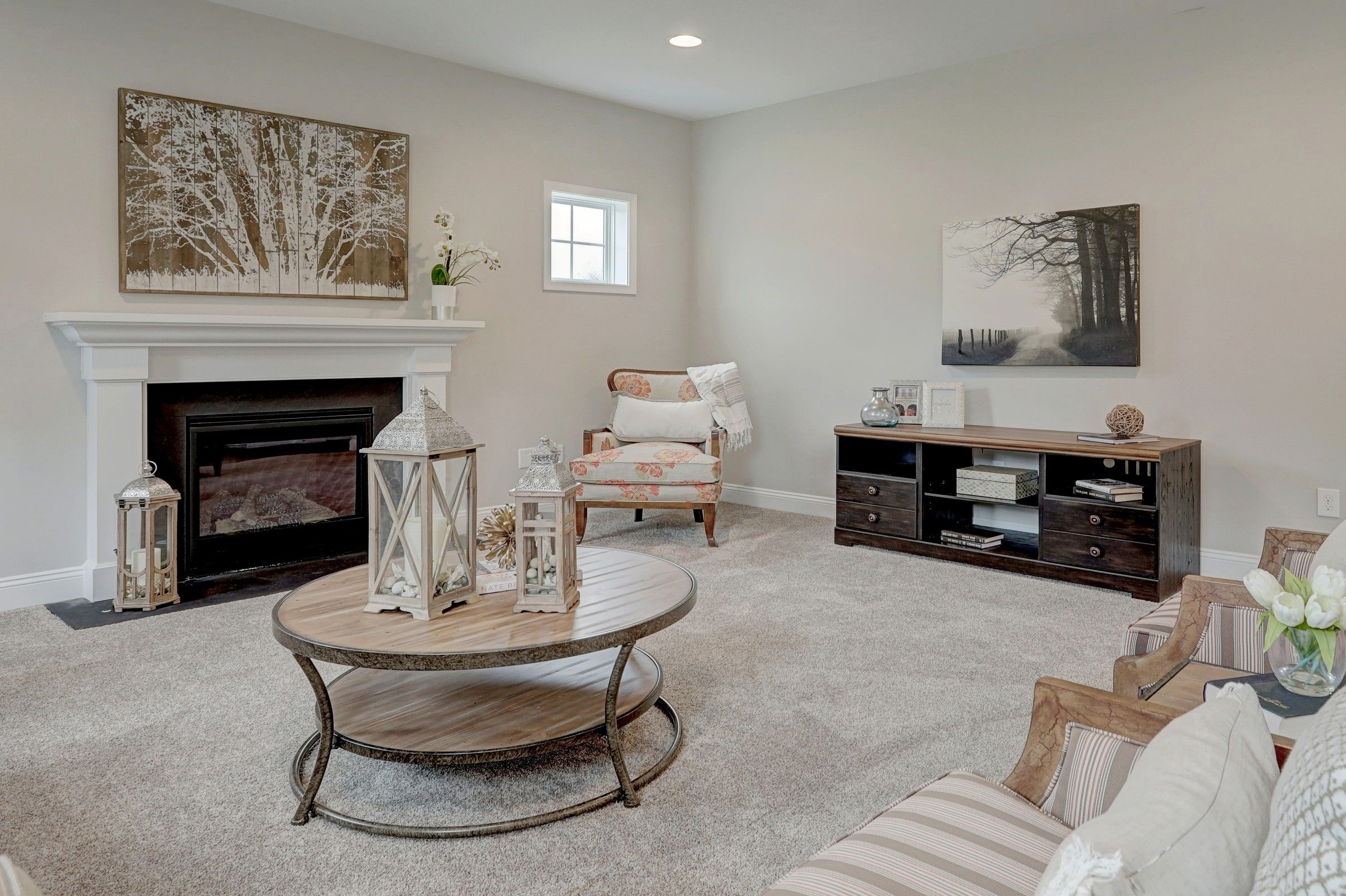 Living Area featured in the Oxford Farmhouse By Keystone Custom Homes in York, PA