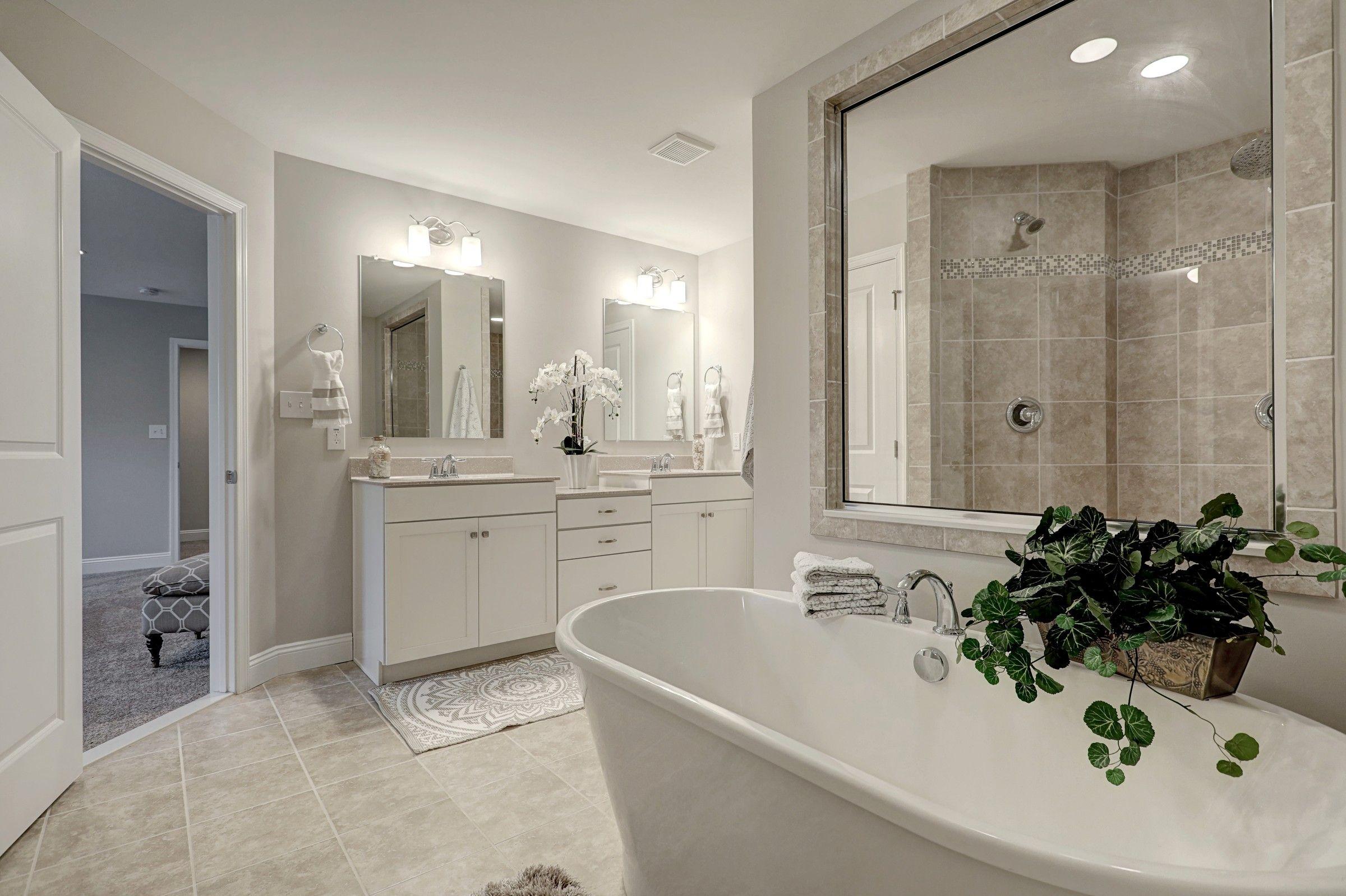 Bathroom featured in the Oxford Farmhouse By Keystone Custom Homes in Wilmington-Newark, MD