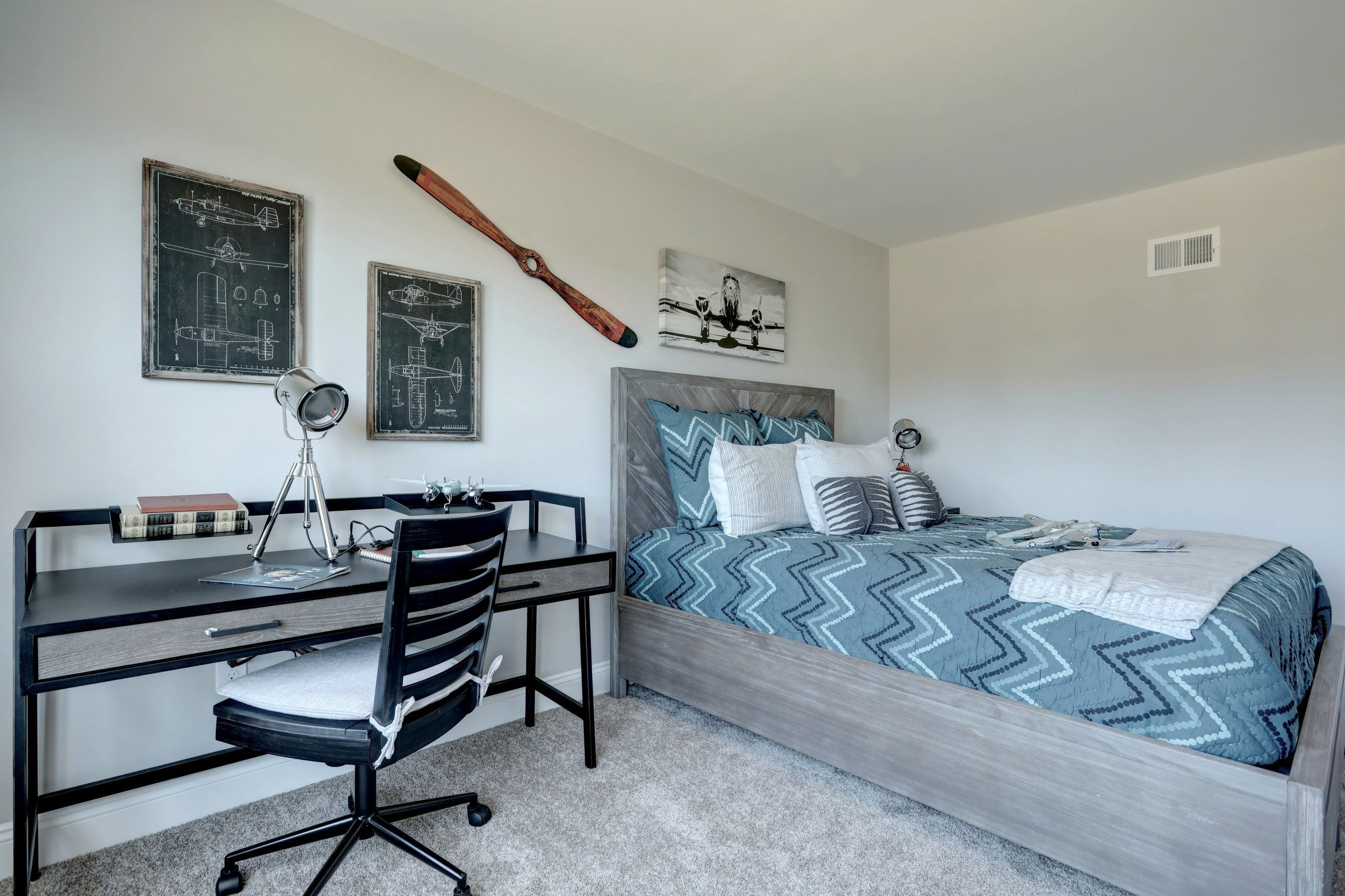 Bedroom featured in the Nottingham Normandy By Keystone Custom Homes in Philadelphia, PA