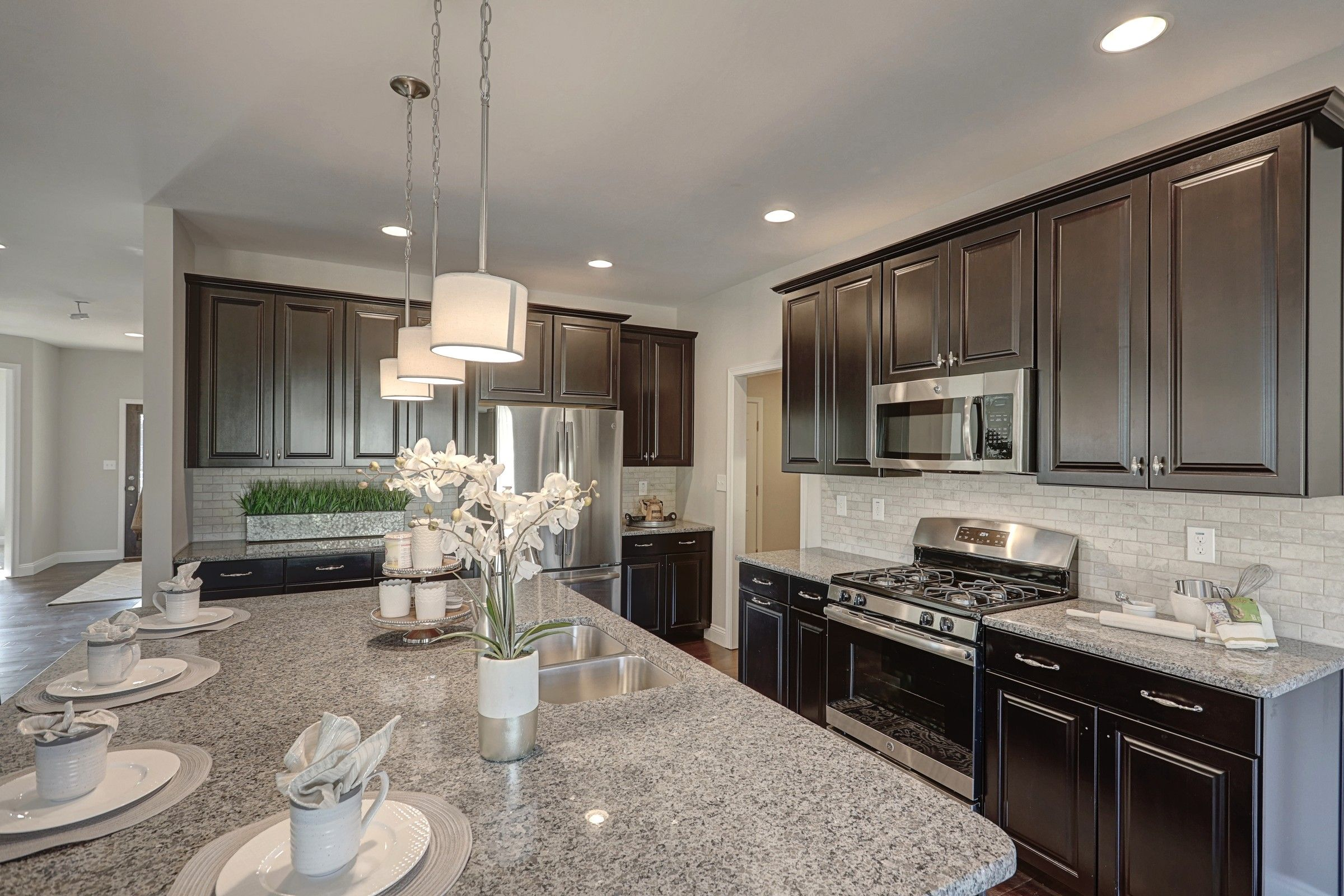 Kitchen featured in the Covington Heritage By Keystone Custom Homes in Washington, MD