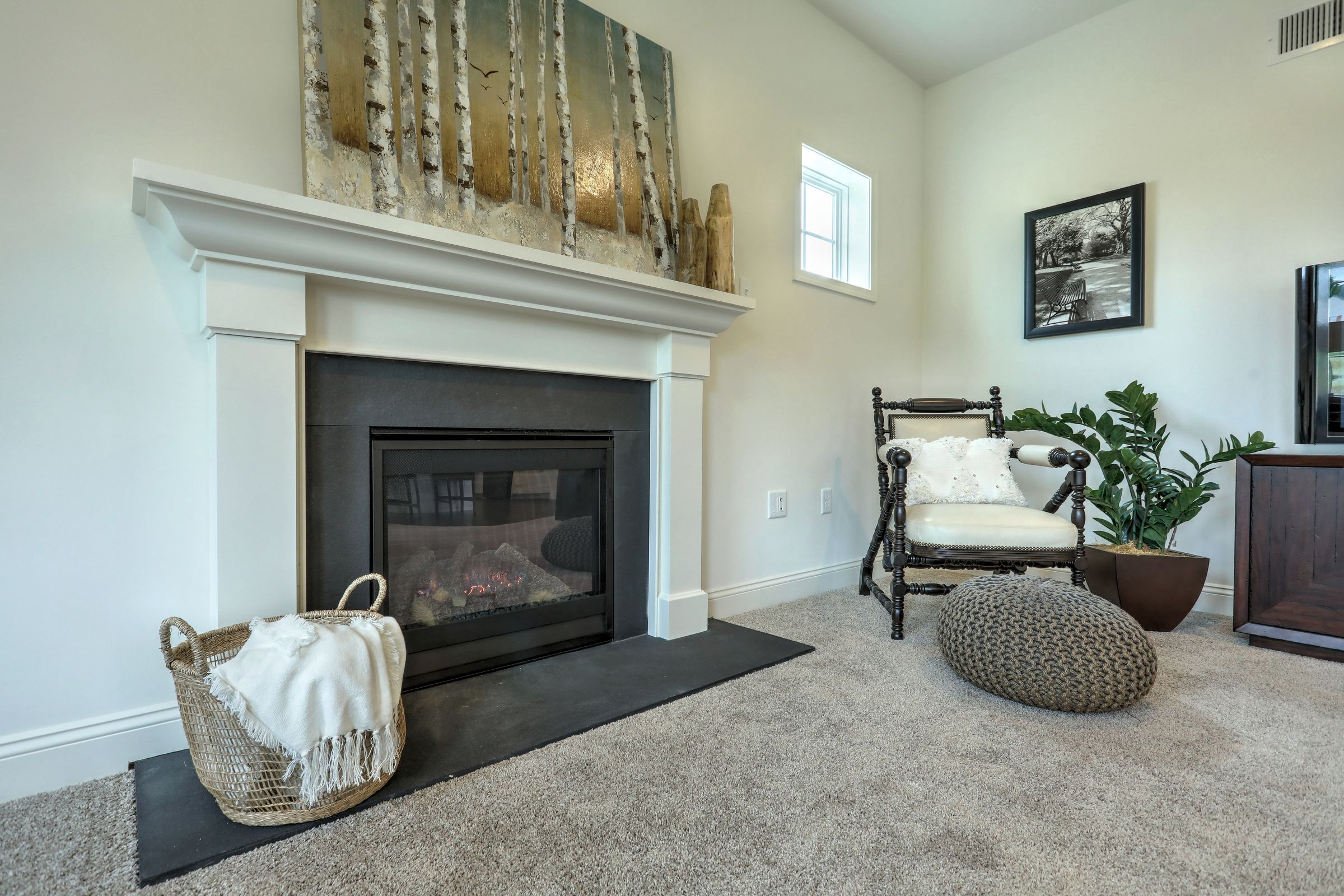 Living Area featured in the Covington Heritage By Keystone Custom Homes in Washington, MD