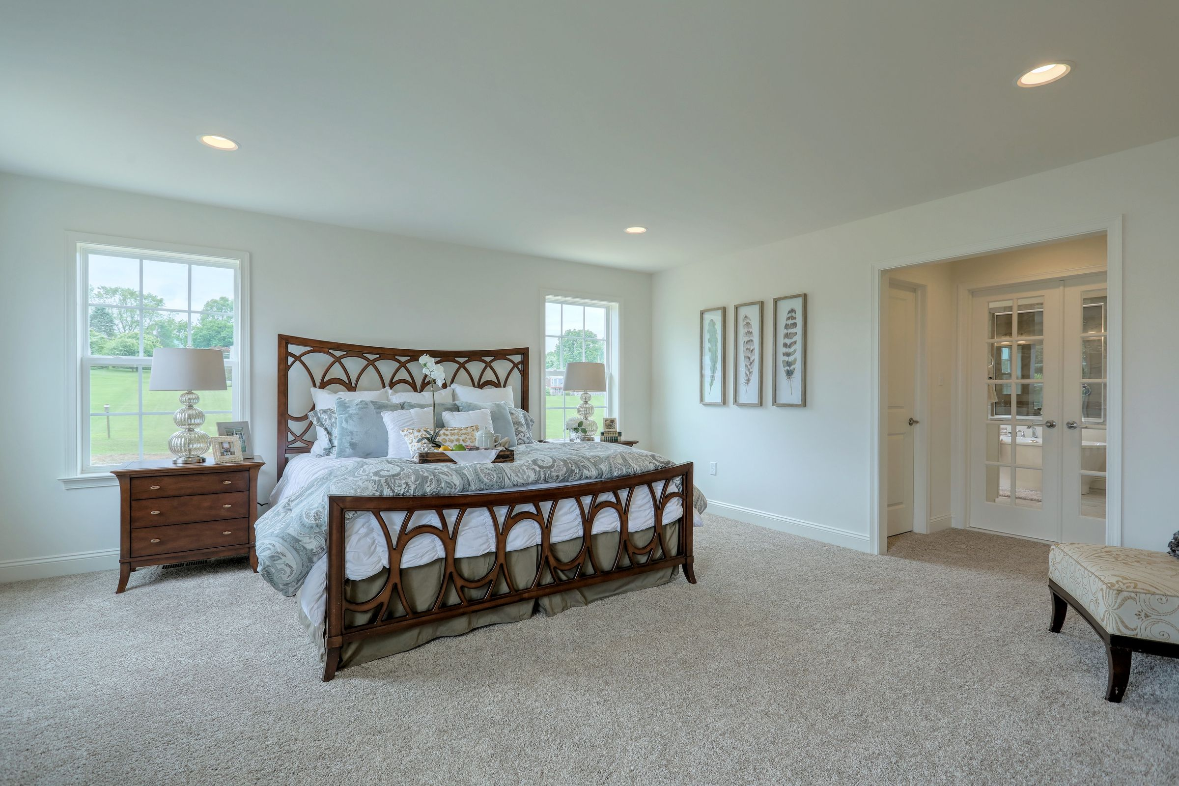 Bedroom featured in the Covington Heritage By Keystone Custom Homes in Washington, MD