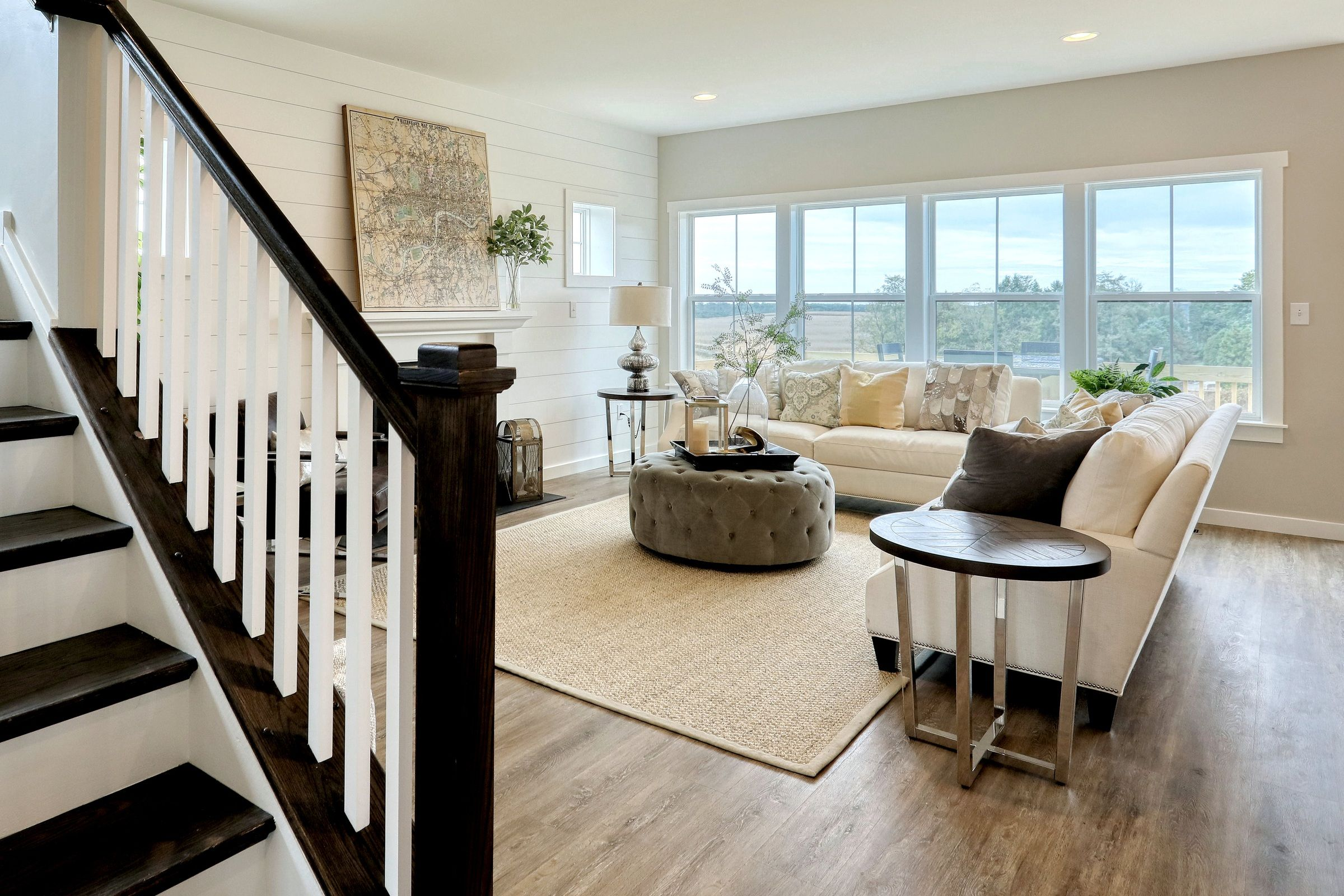 Living Area featured in the Addison Traditional By Keystone Custom Homes in York, PA