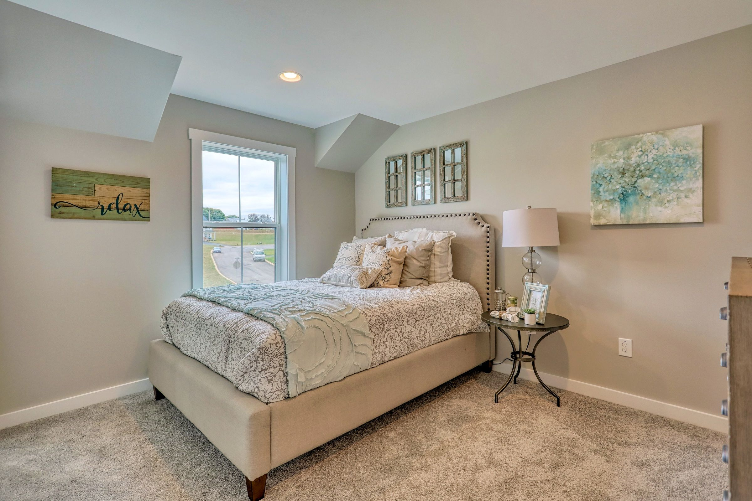 Bedroom featured in the Addison Traditional By Keystone Custom Homes in York, PA