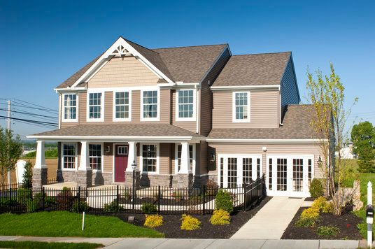 Exterior featured in the Windsor Manor By Keystone Custom Homes in Lancaster, PA