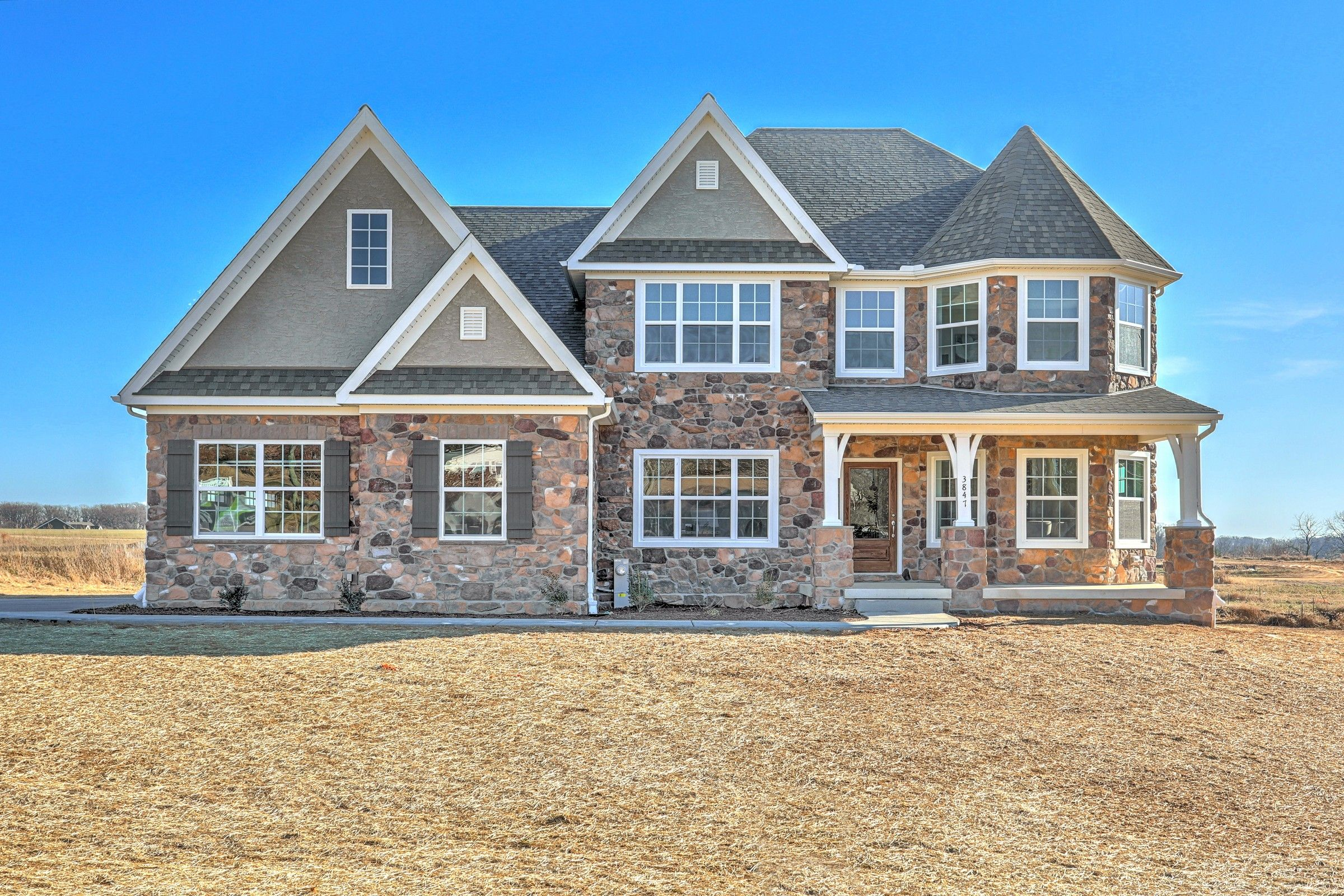 Exterior featured in the Nottingham Manor By Keystone Custom Homes in Lancaster, PA