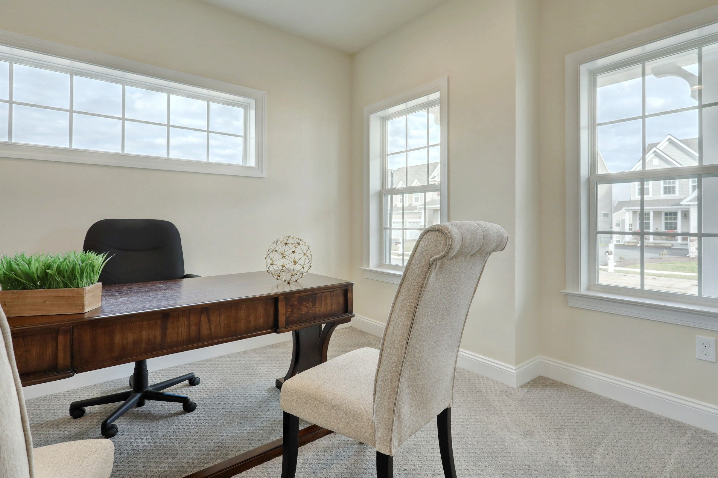 Living Area featured in the Addison Farmhouse By Keystone Custom Homes in Philadelphia, PA