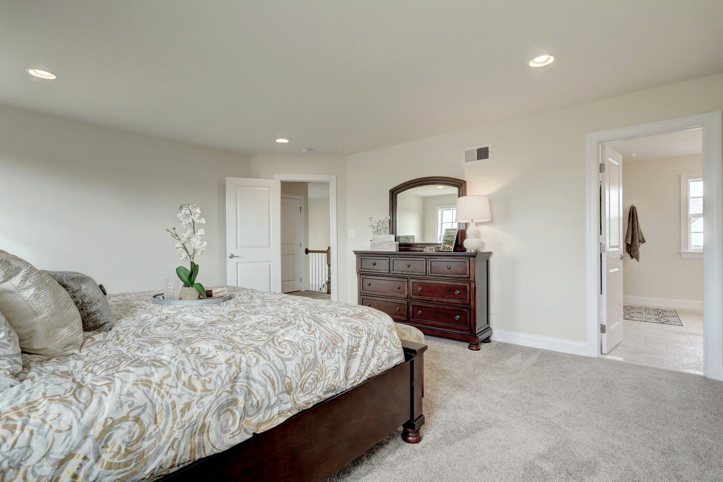 Bedroom featured in the Addison Farmhouse By Keystone Custom Homes in Philadelphia, PA