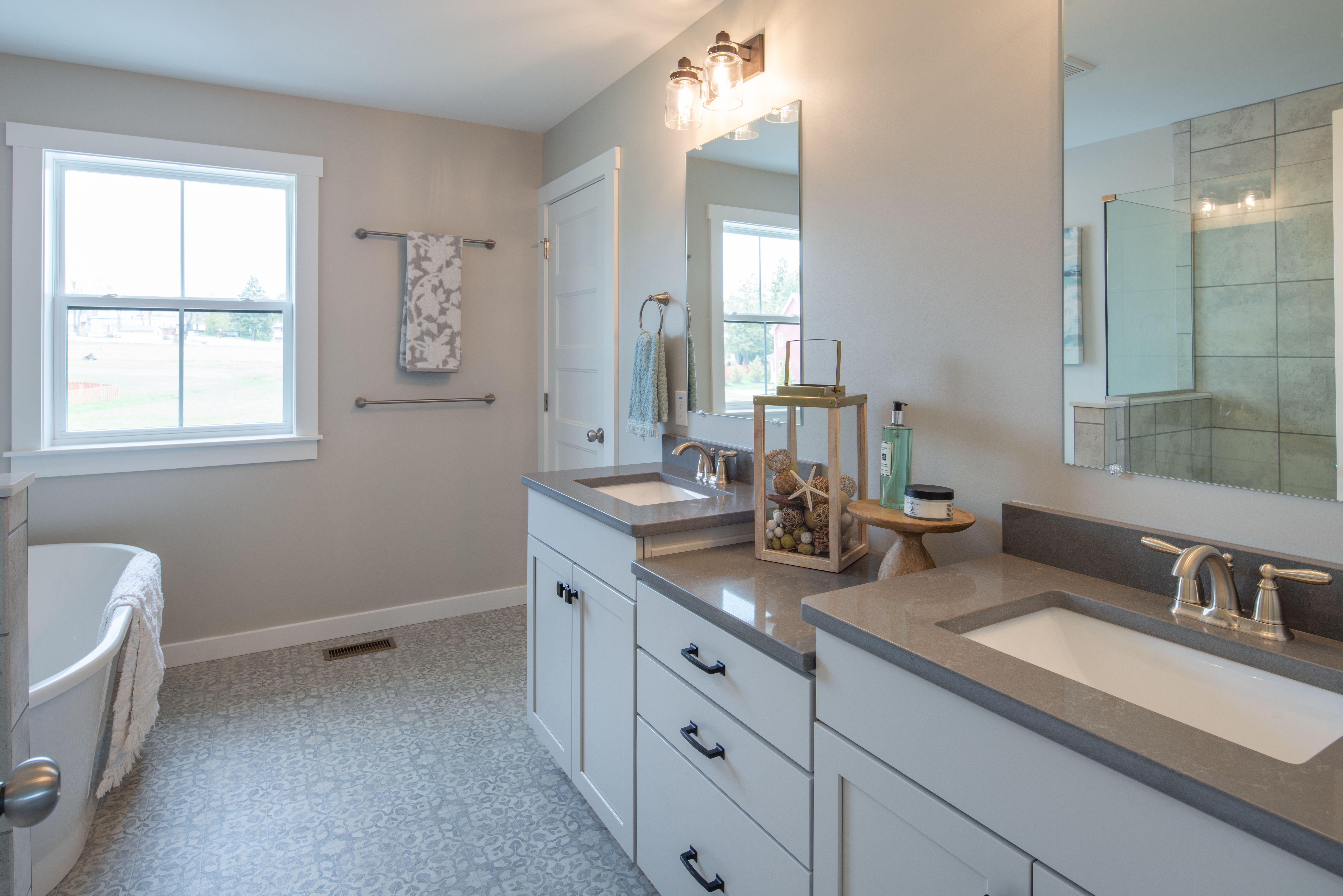 Bathroom featured in the Addison Farmhouse By Keystone Custom Homes in Philadelphia, PA