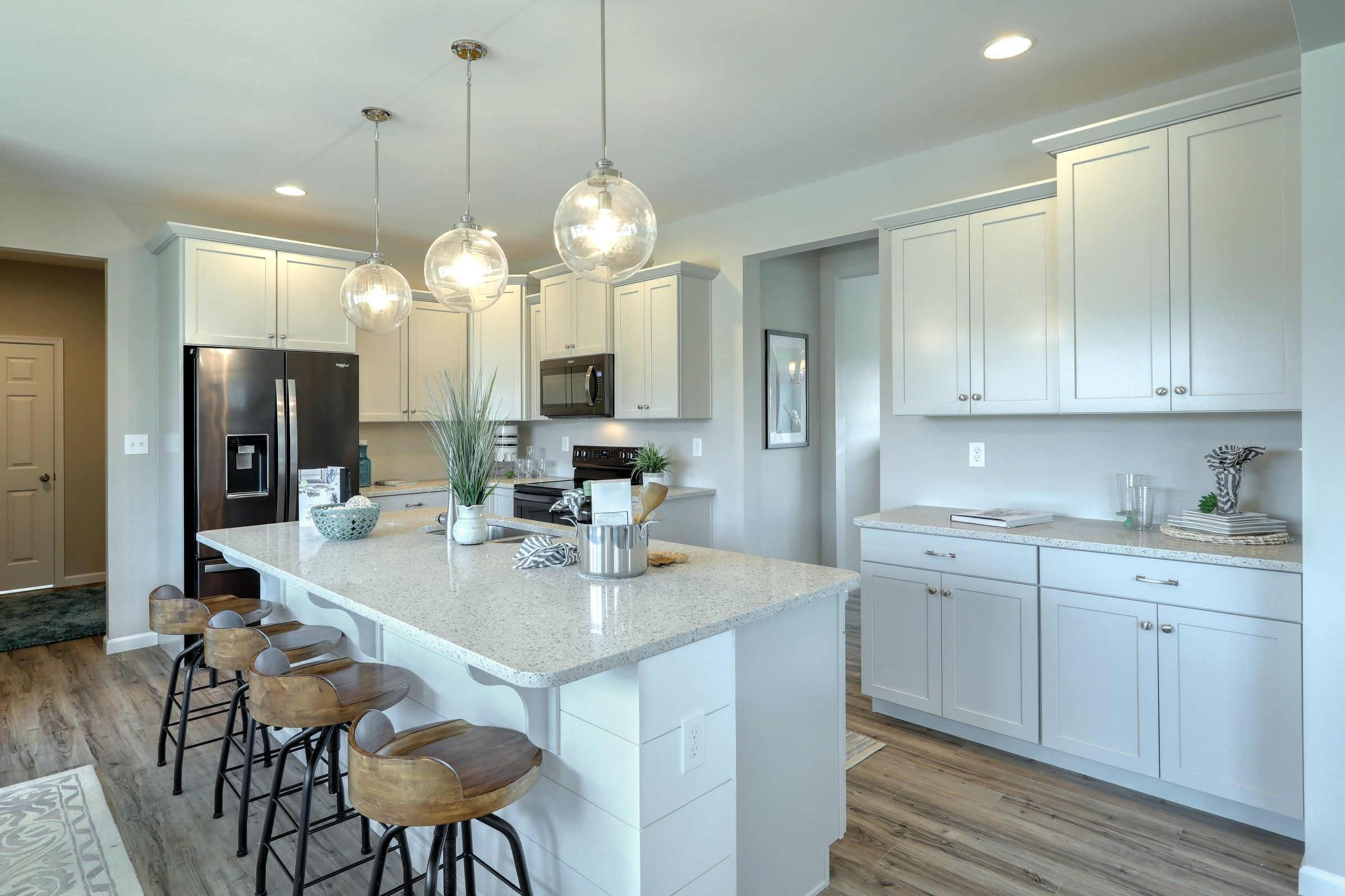 Kitchen featured in the Parker Traditional By Keystone Custom Homes in York, PA