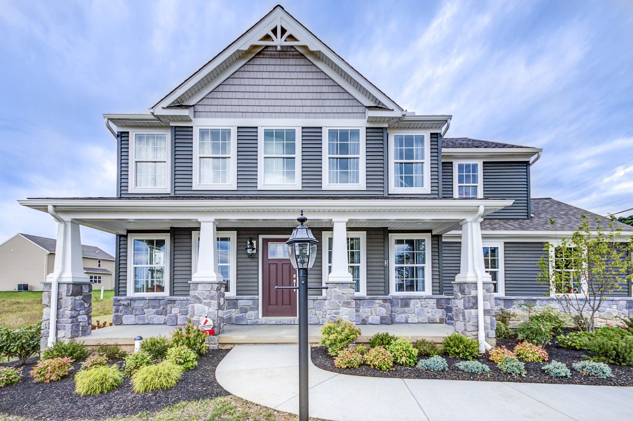Exterior featured in the Windsor Heritage By Keystone Custom Homes in York, PA