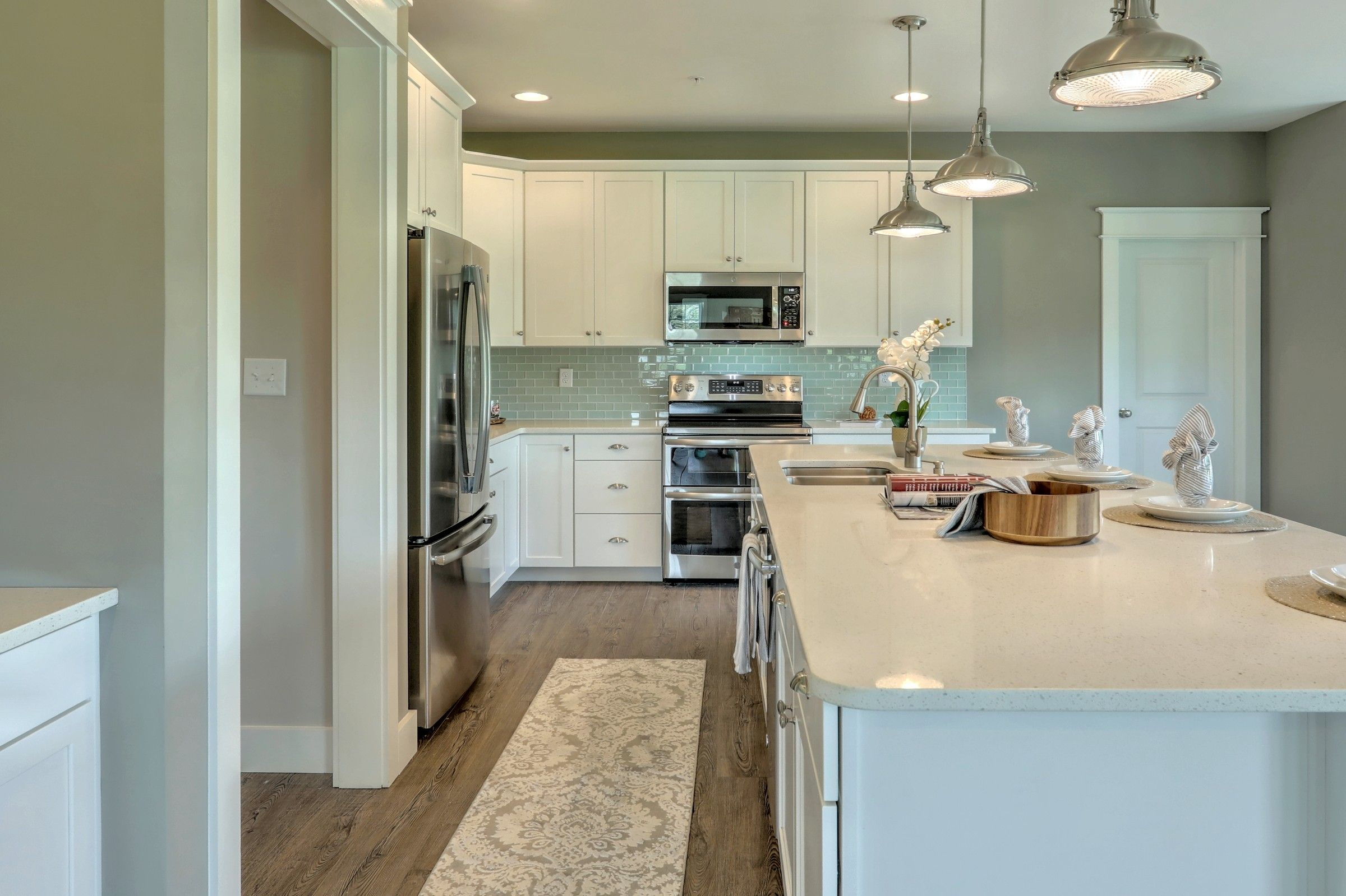 Kitchen featured in the Ethan English Cottage By Keystone Custom Homes in York, PA
