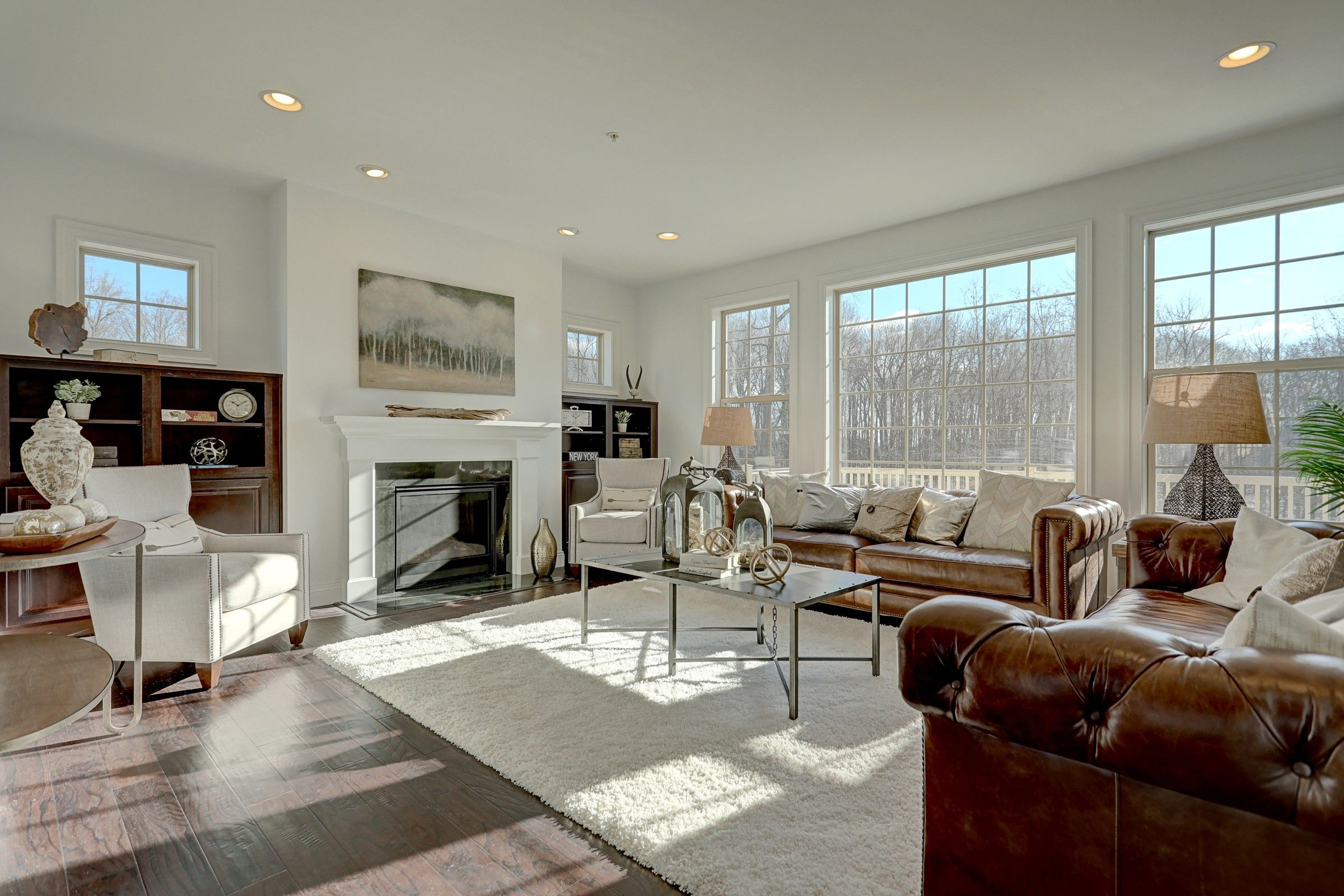 Living Area featured in the Ethan English Cottage By Keystone Custom Homes in York, PA