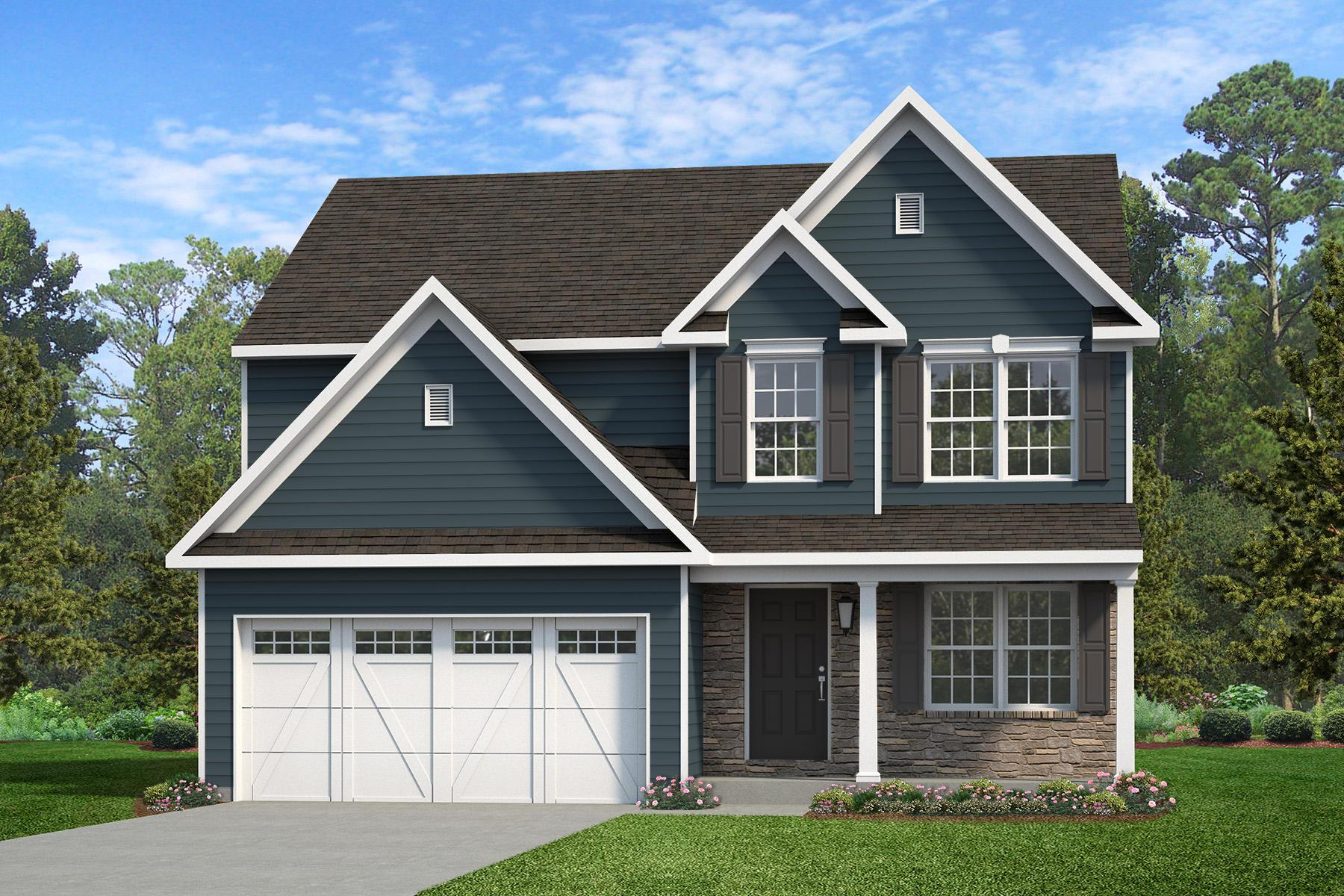 Exterior featured in the Alexander Heritage By Keystone Custom Homes in York, PA