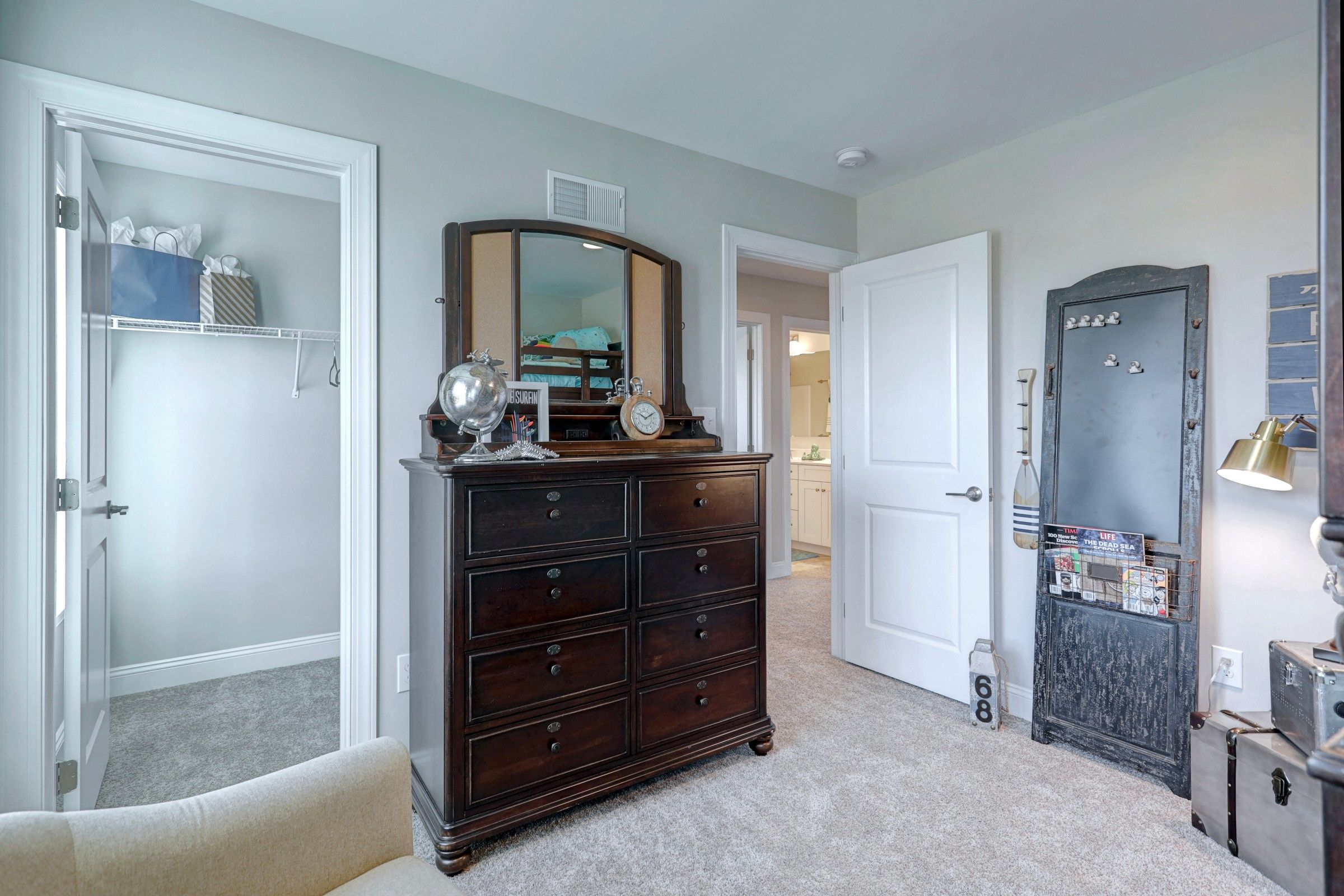 Bedroom featured in the Windsor Traditional By Keystone Custom Homes in Lancaster, PA