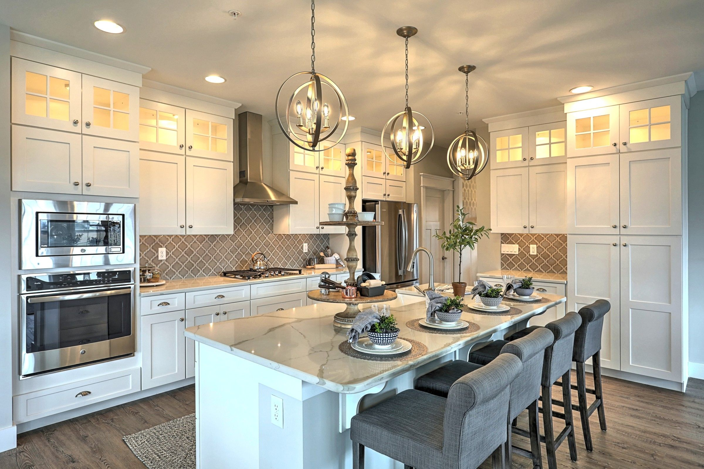 Kitchen featured in the Augusta Heritage By Keystone Custom Homes in York, PA