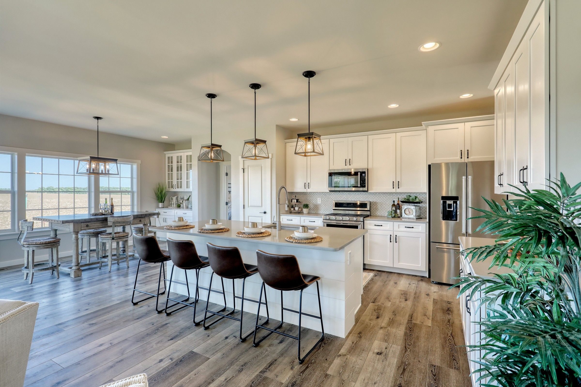 Kitchen featured in the Augusta Traditional By Keystone Custom Homes in York, PA