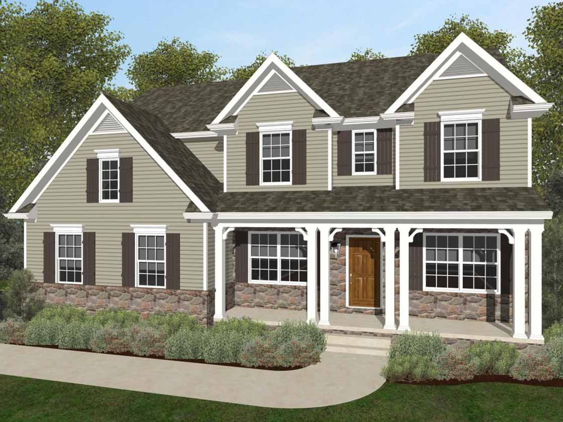 Exterior featured in the Parker Vintage By Keystone Custom Homes in York, PA