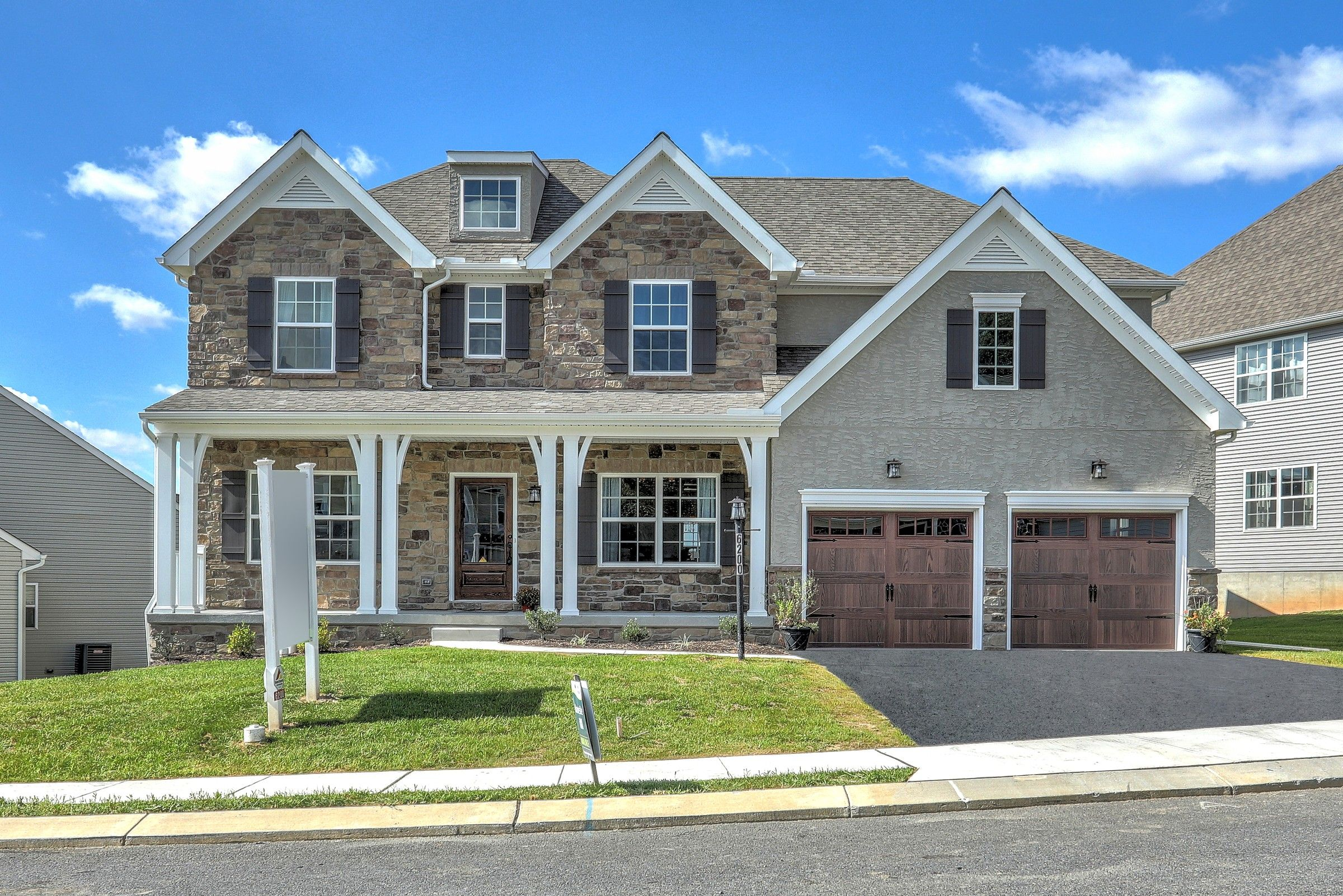 Exterior featured in the Parker Traditional By Keystone Custom Homes in York, PA