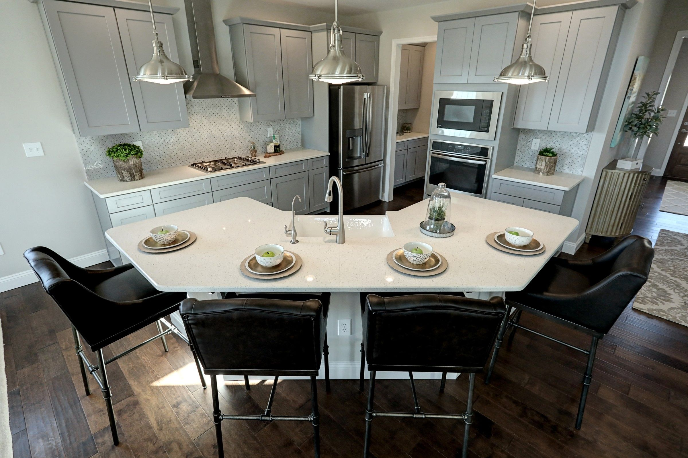 Kitchen featured in the Nottingham Traditional By Keystone Custom Homes in Lancaster, PA