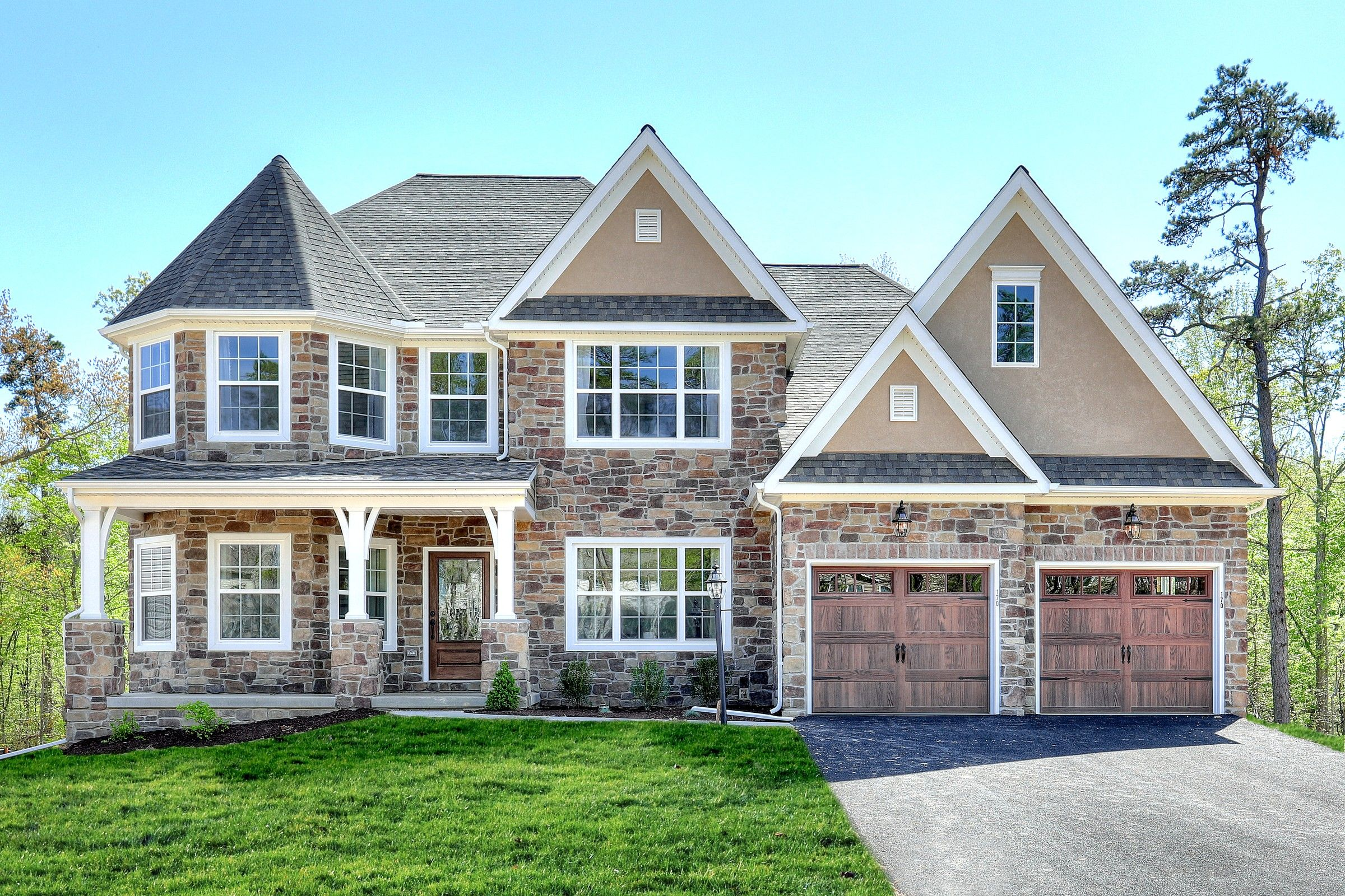 Exterior featured in the Nottingham Traditional By Keystone Custom Homes in Lancaster, PA