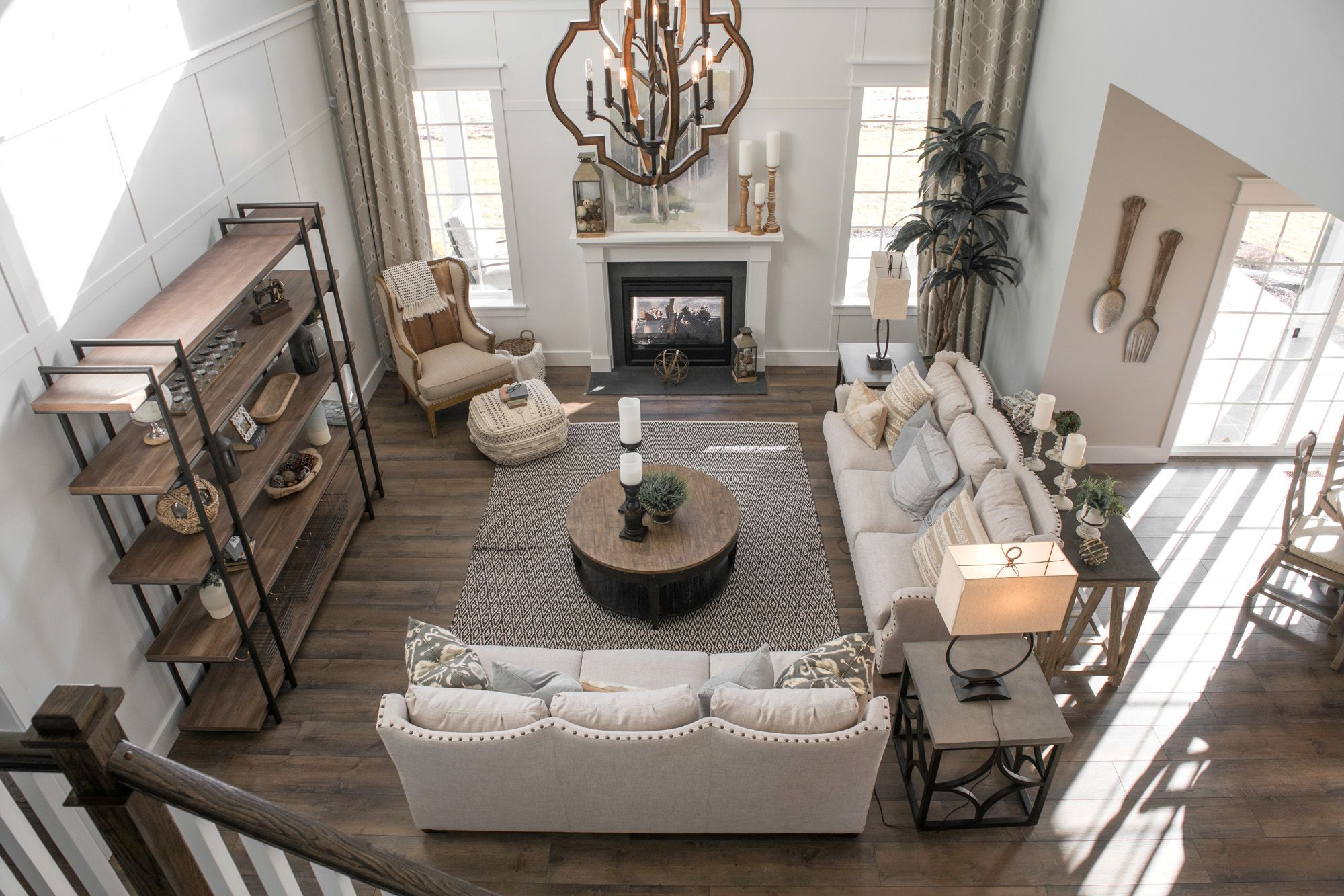 Living Area featured in the Nottingham Traditional By Keystone Custom Homes in Lancaster, PA