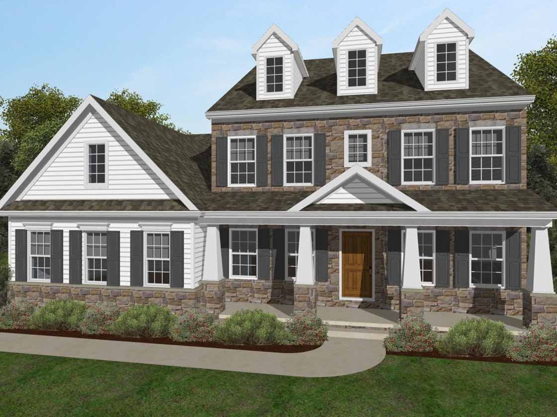 Exterior featured in the Nottingham Heritage By Keystone Custom Homes in Lancaster, PA