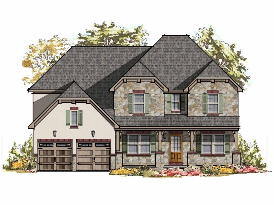 Exterior featured in the Ethan Bordeaux By Keystone Custom Homes in York, PA