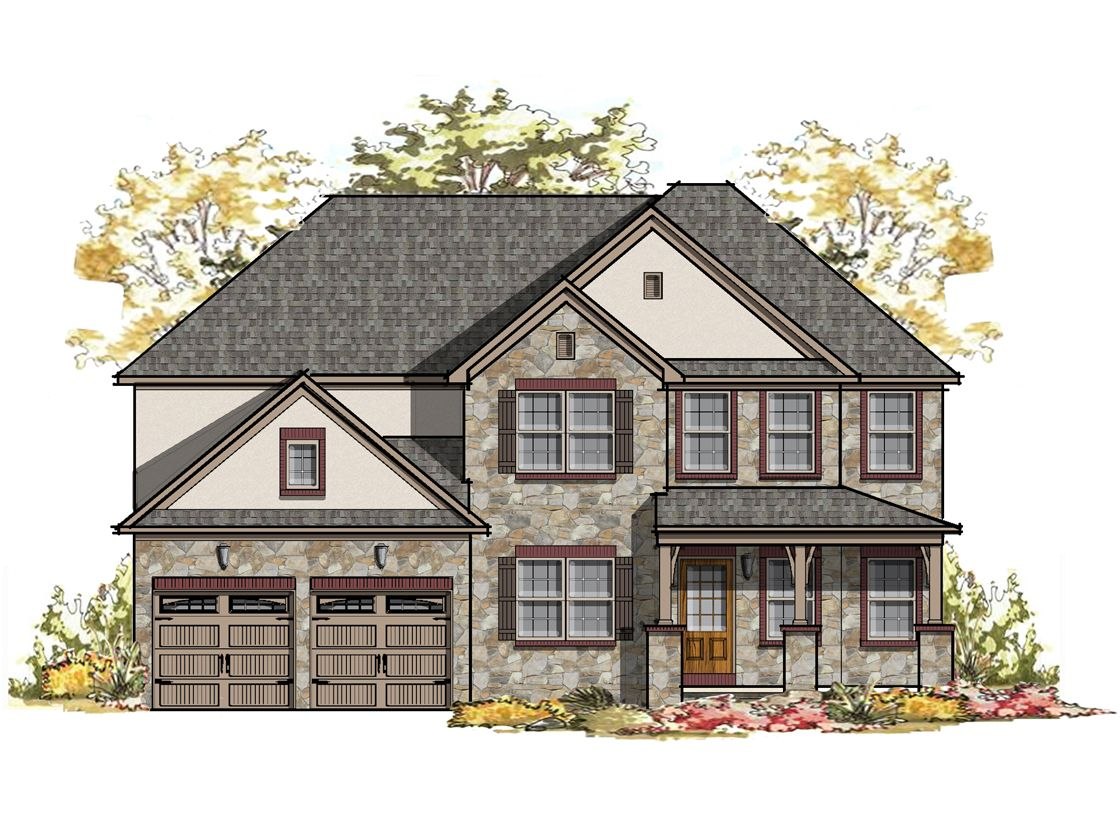 Exterior featured in the Parker Normandy By Keystone Custom Homes in Lancaster, PA