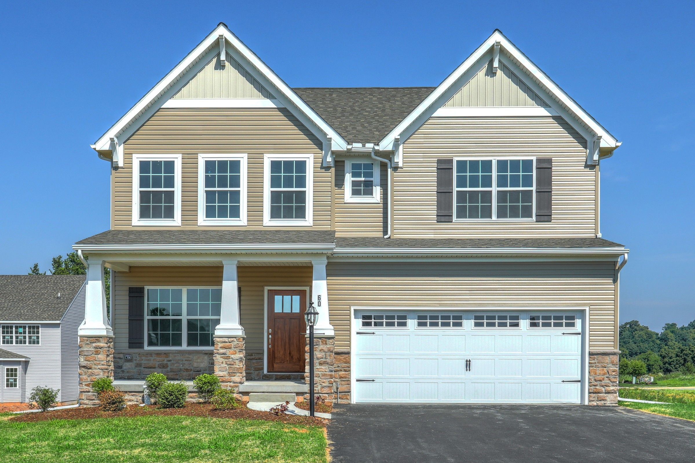 Exterior featured in the Brentwood Vintage By Keystone Custom Homes in York, PA