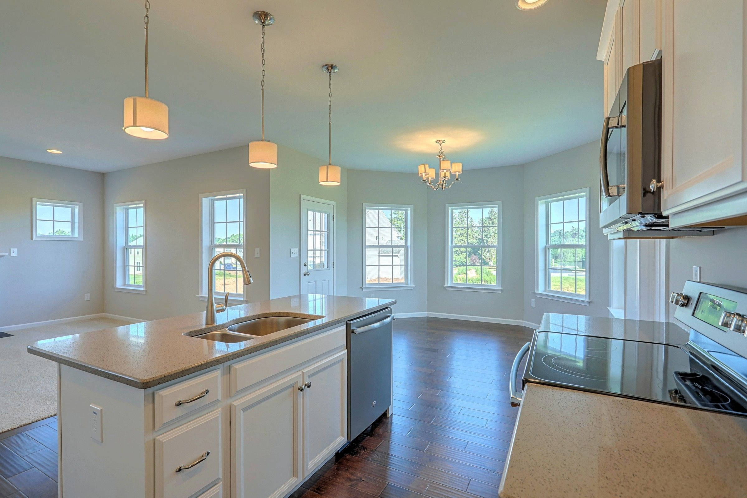 Kitchen featured in the Brentwood Vintage By Keystone Custom Homes in York, PA