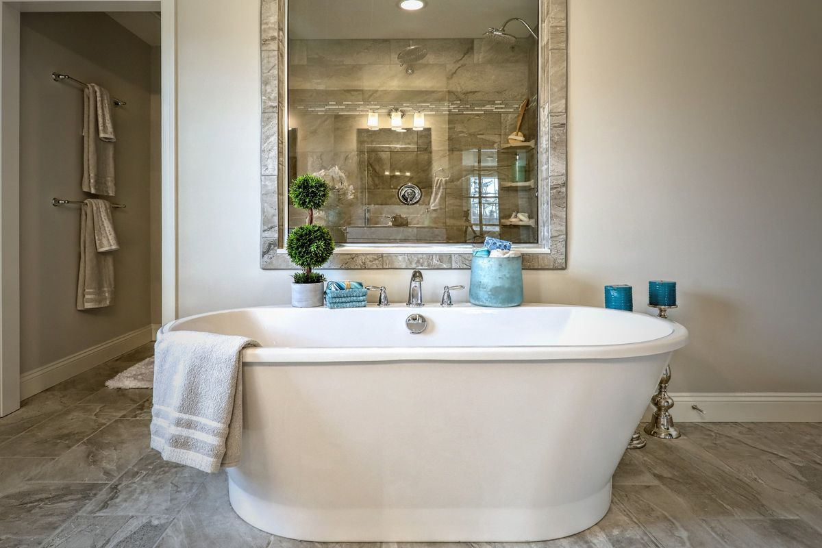 Bathroom featured in the Covington Traditional By Keystone Custom Homes in York, PA