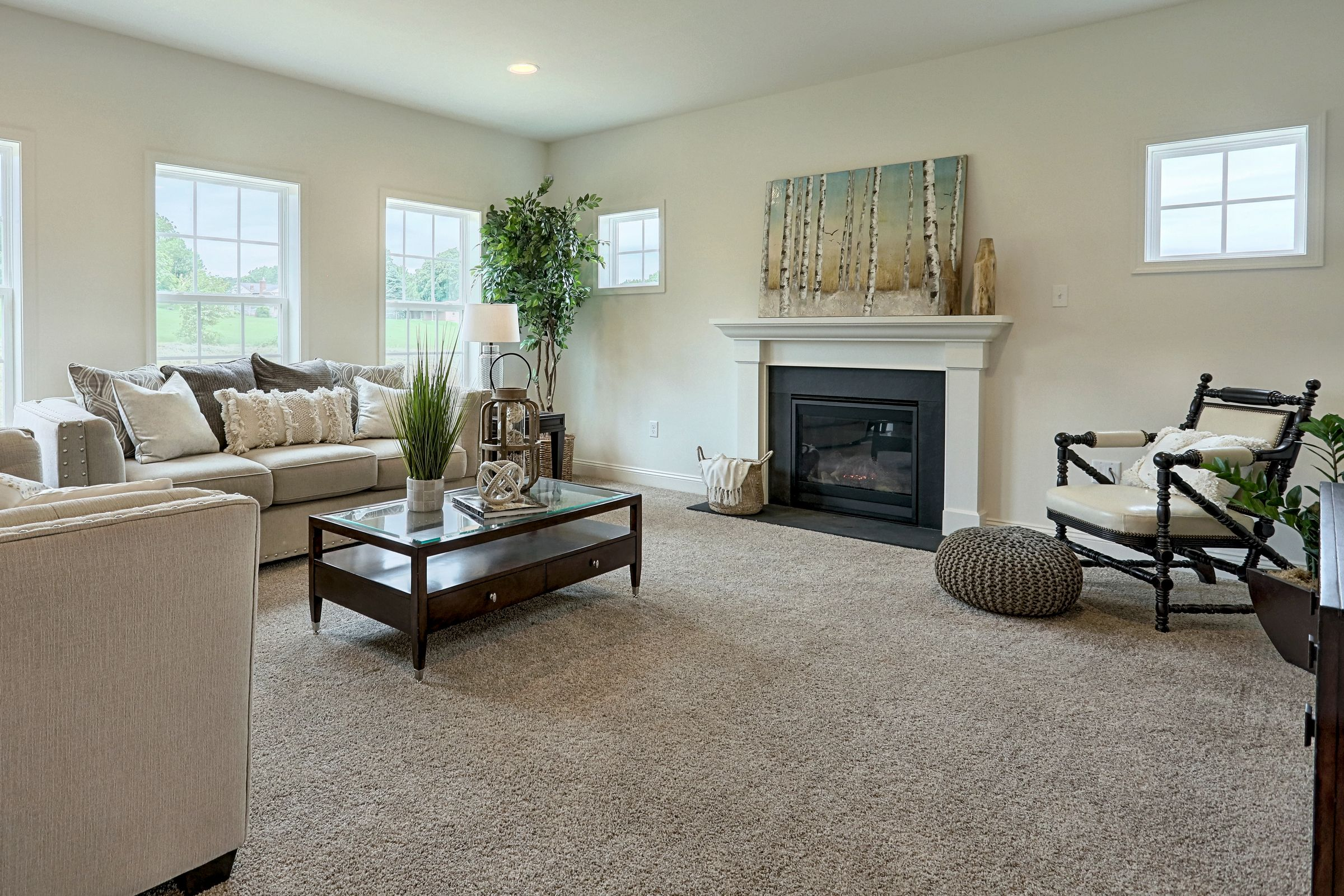 Living Area featured in the Covington Heritage By Keystone Custom Homes in Lancaster, PA
