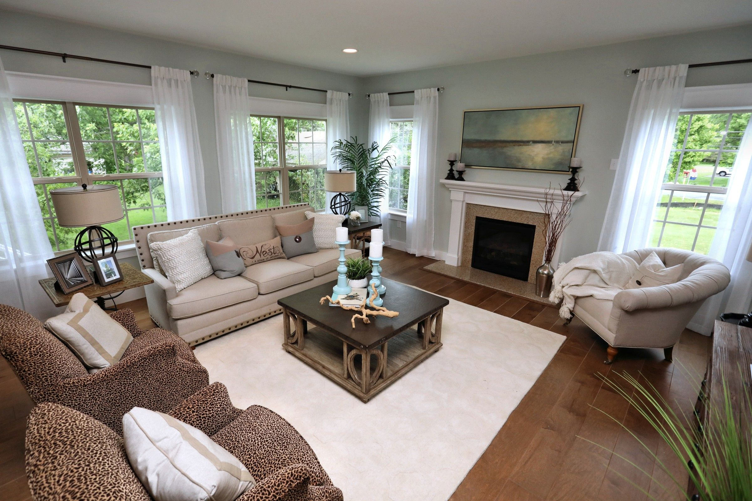Living Area featured in the Covington Traditional By Keystone Custom Homes in York, PA