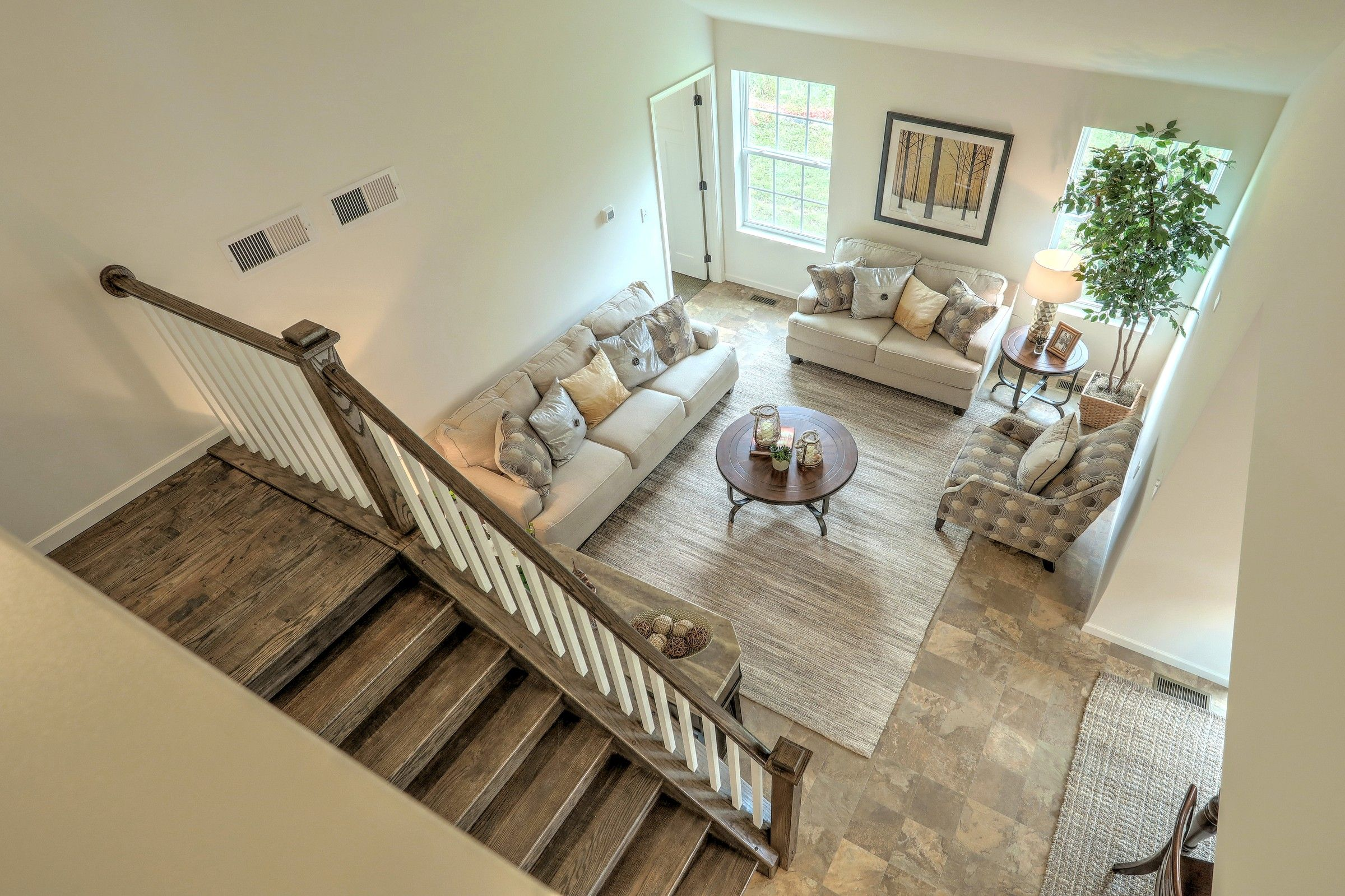 Living Area featured in the Andrews Vintage By Keystone Custom Homes in York, PA