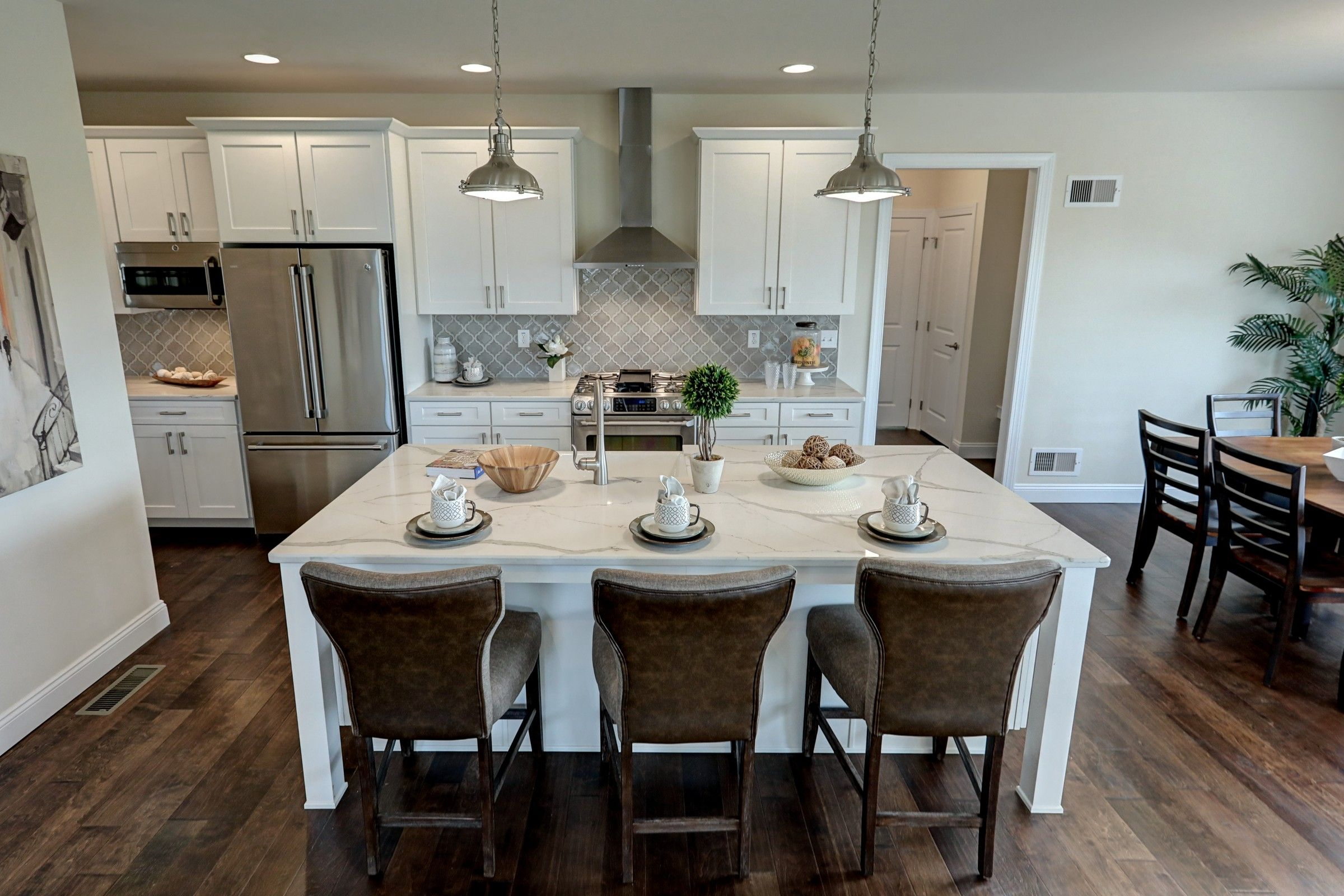 Kitchen featured in the Addison Traditional By Keystone Custom Homes in York, PA
