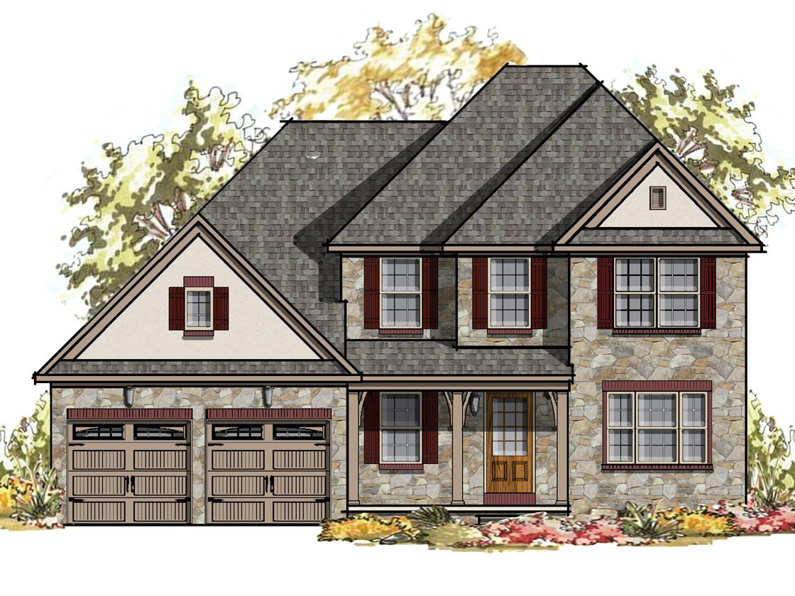 Exterior featured in the Sycamore Bordeaux By Keystone Custom Homes in York, PA