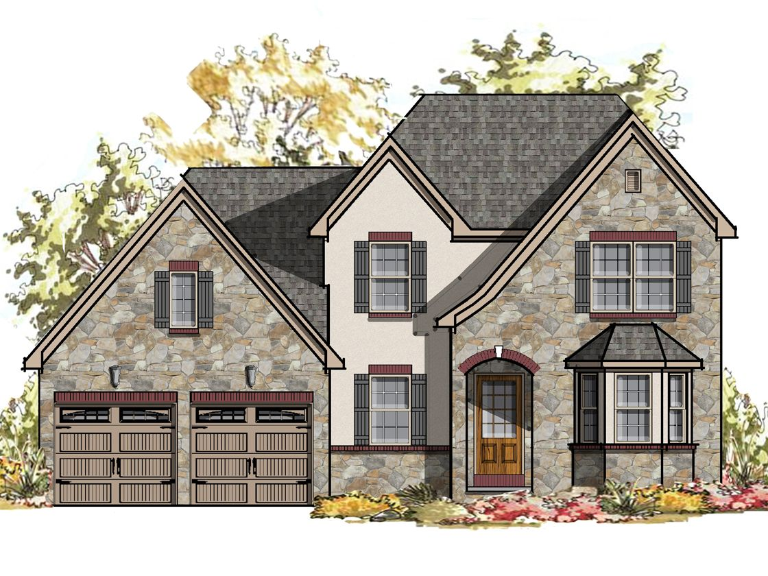 Exterior featured in the Sycamore Normandy By Keystone Custom Homes in York, PA