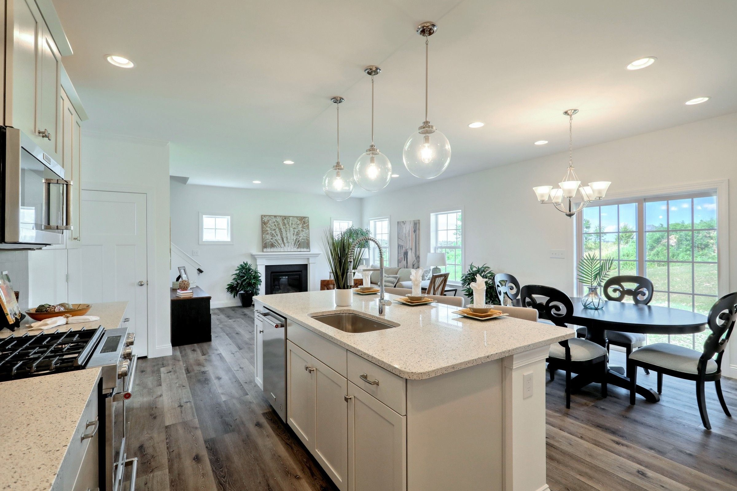 Kitchen featured in the Lachlan Traditional By Keystone Custom Homes in York, PA