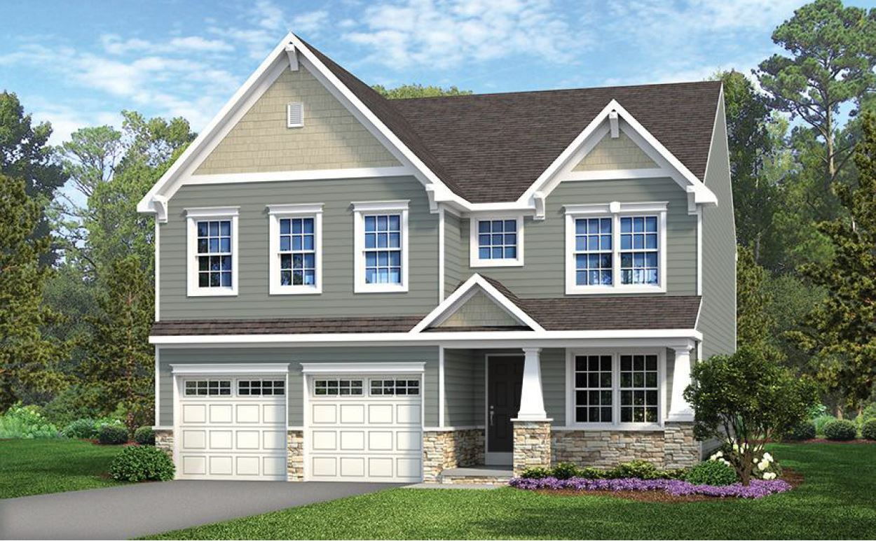 Exterior featured in the Lachlan Heritage By Keystone Custom Homes in York, PA